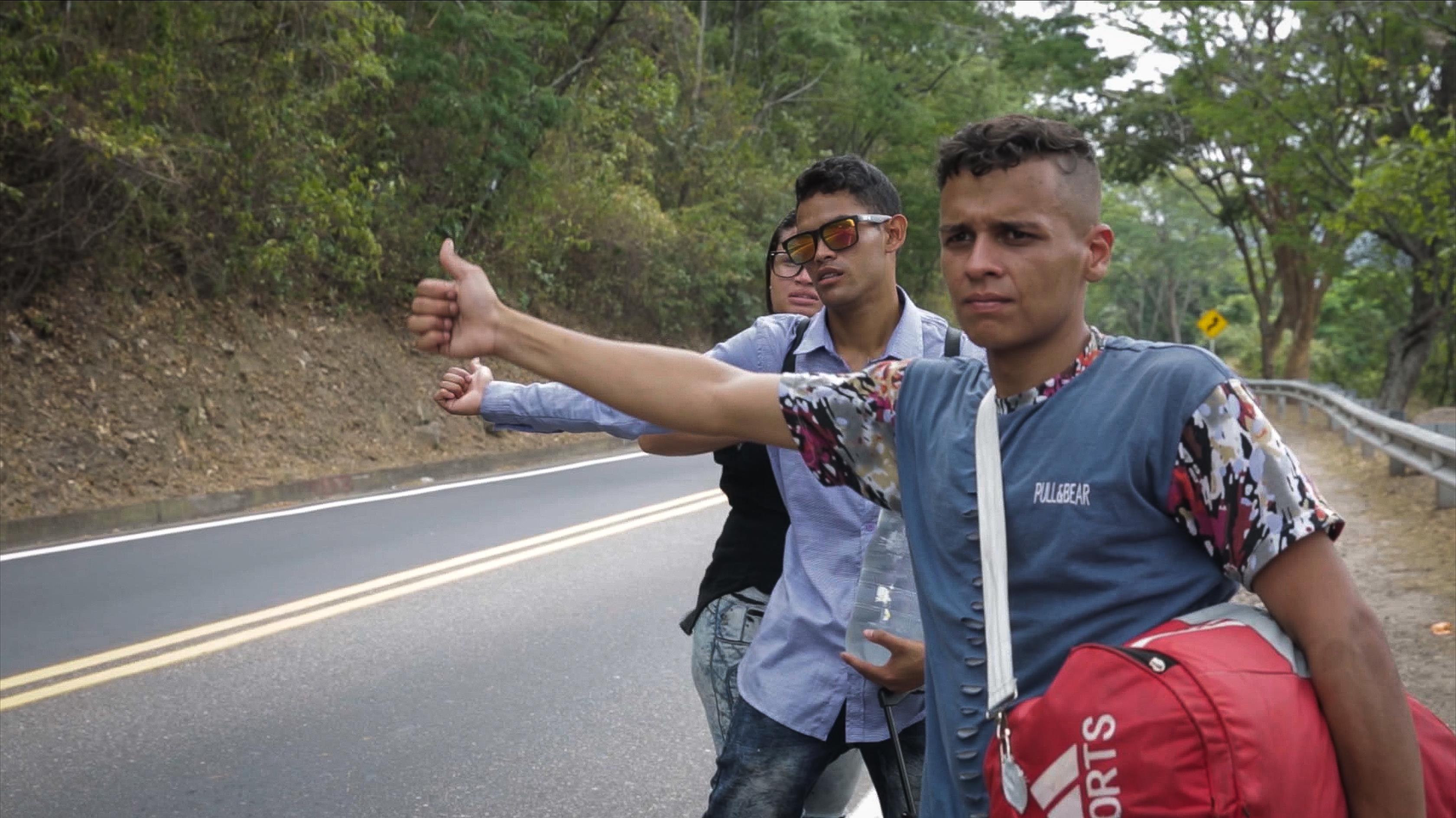 Leaving Venezuela: Walking to find a better life
