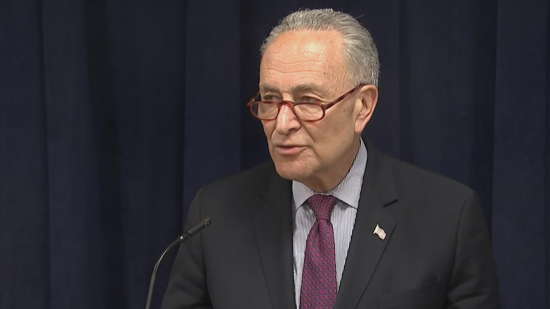 Sen. Schumer reacts to Mueller report submission to Barr