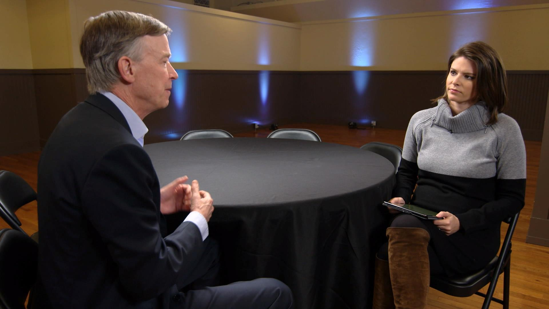 Hickenlooper: 'Beating Trump is essential, but it's not sufficient'