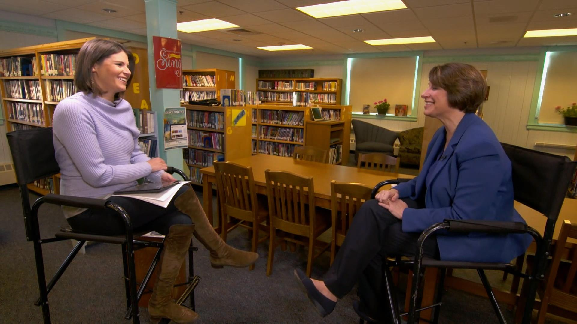 Climate change, immigration, college tuition overshadow Mueller investigation as Amy Klobuchar campaigns in NH
