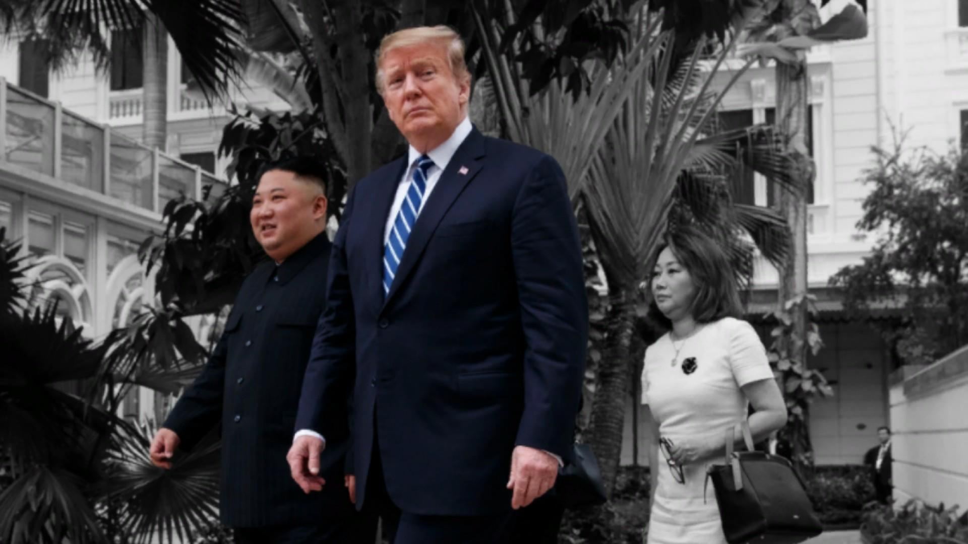 Trump praises North Korea's murderous dictator after failed summit