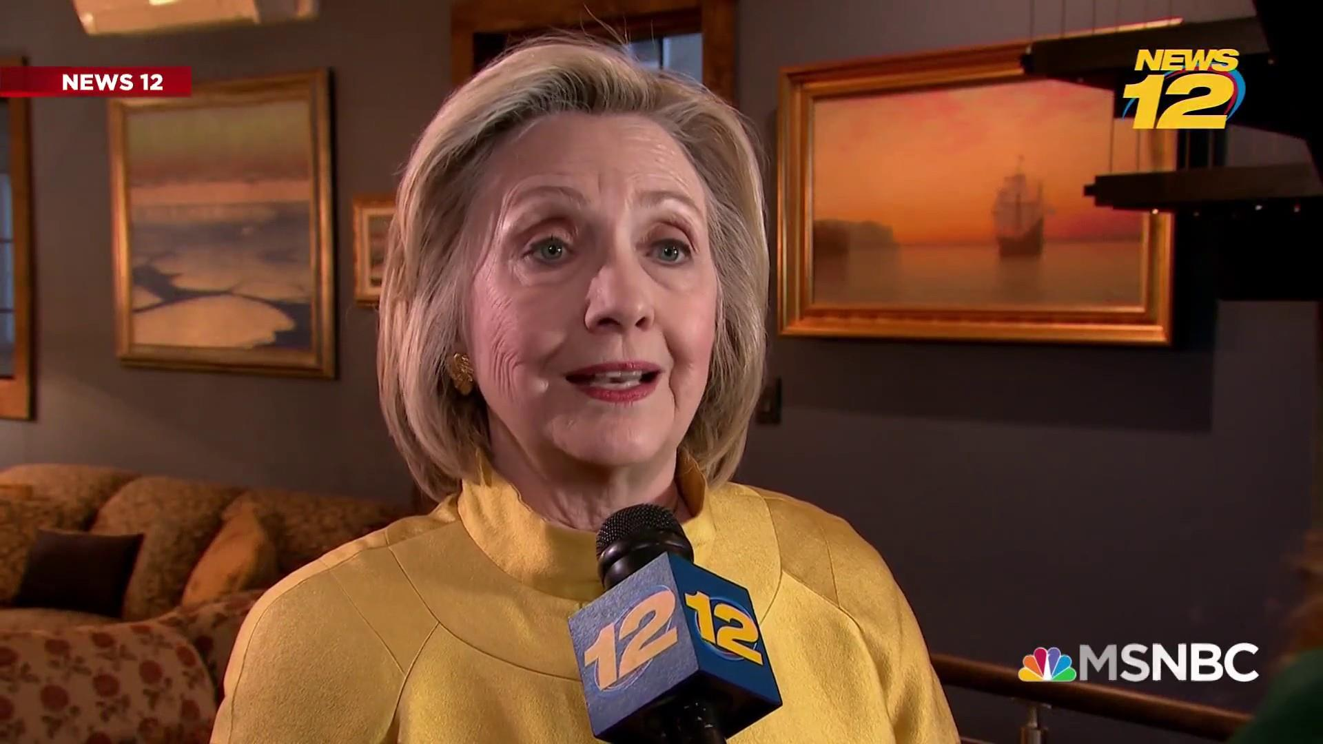Hillary Clinton on 2020: 'I'm not running' but will 'keep speaking out'