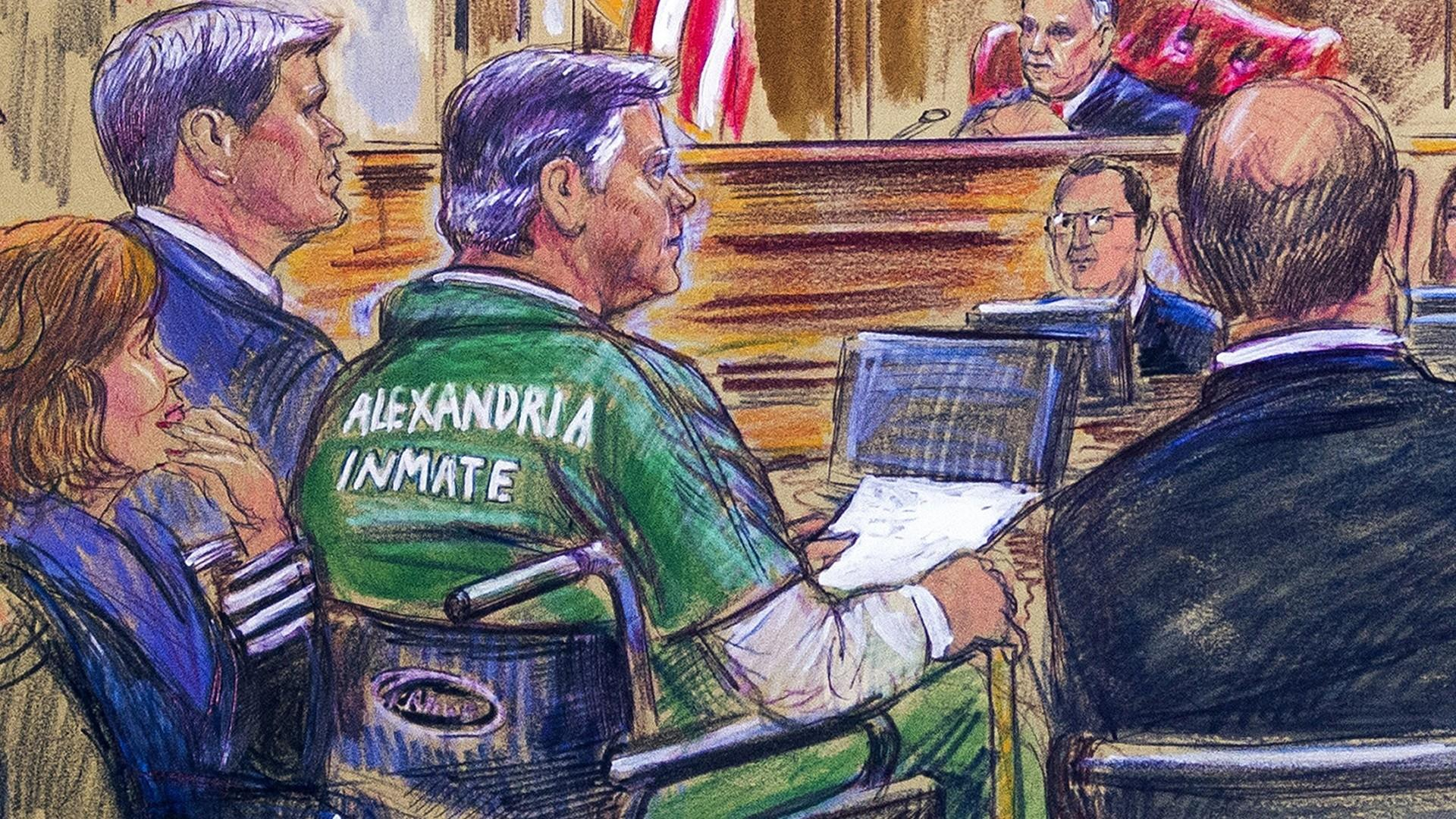 Manafort to give personal statement at sentencing shortly