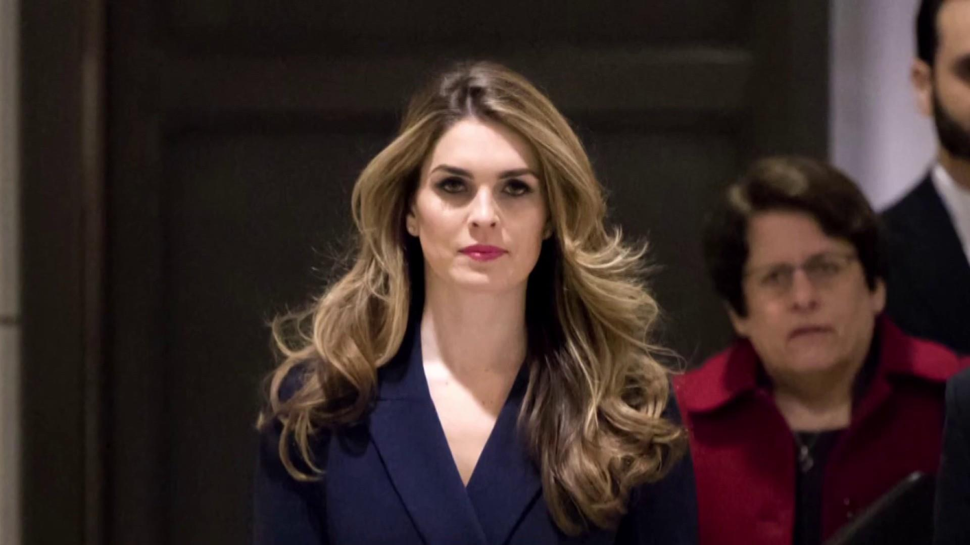 Hope Hicks reportedly agrees to turn over docs to House Dems