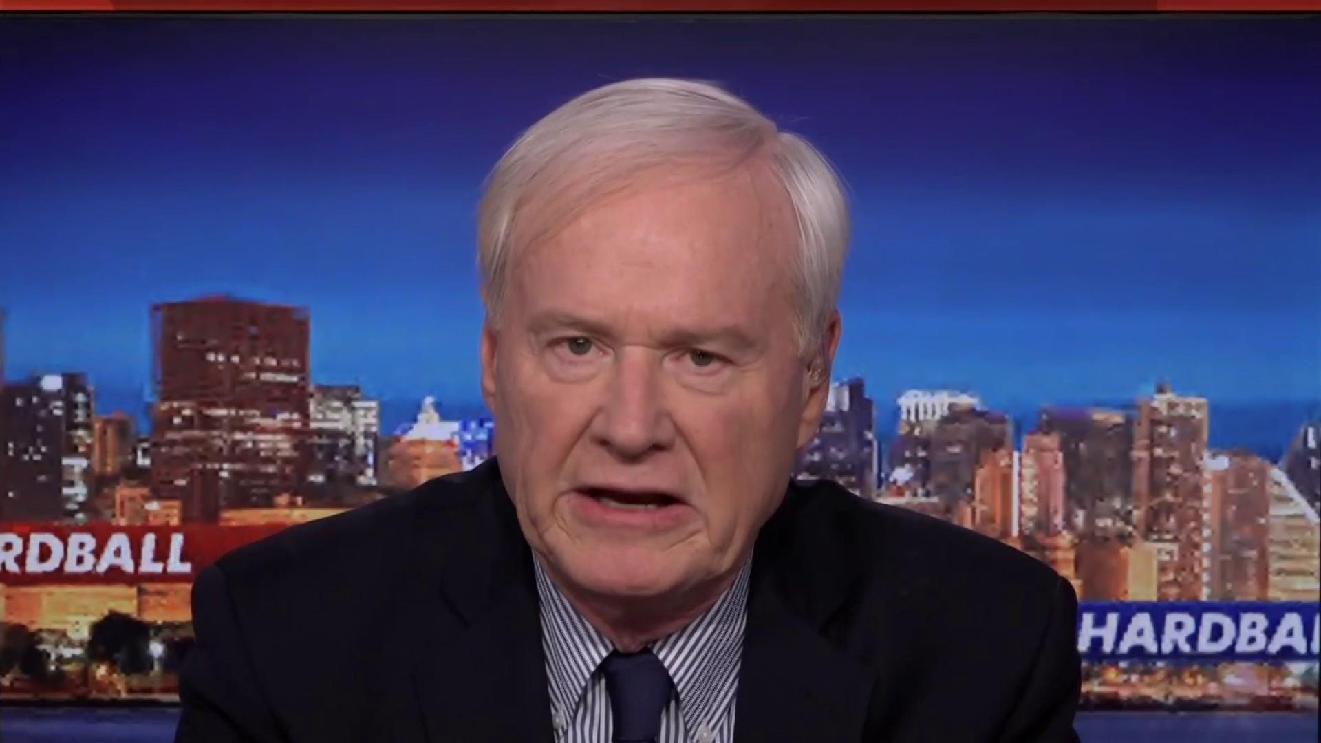 Matthews: Until Trump, I never imagined a President attacking a deceased rival