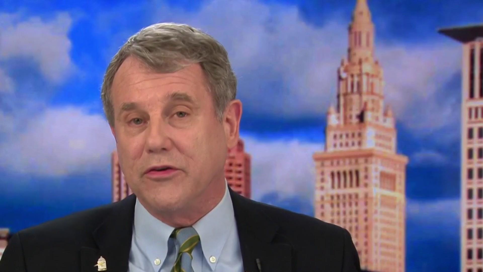 Sen. Sherrod Brown: Trump has betrayed workers