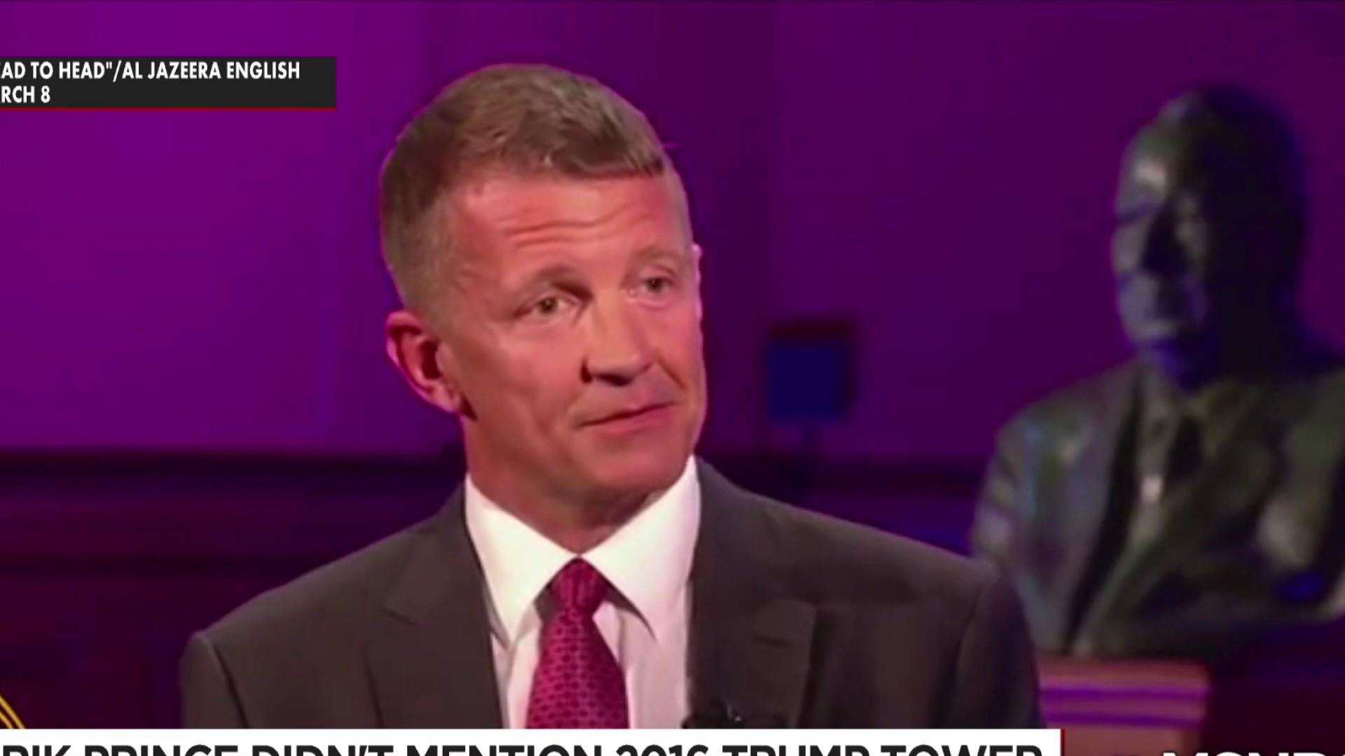 Fmr. Blackwater founder Erik Prince gets called out for apparently lying