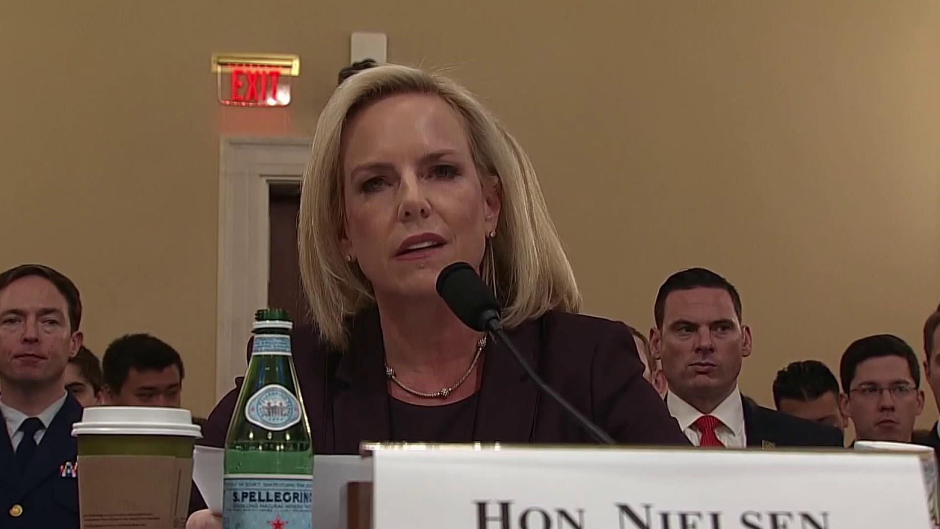 Nielsen evades even yes or no questions on the Hill