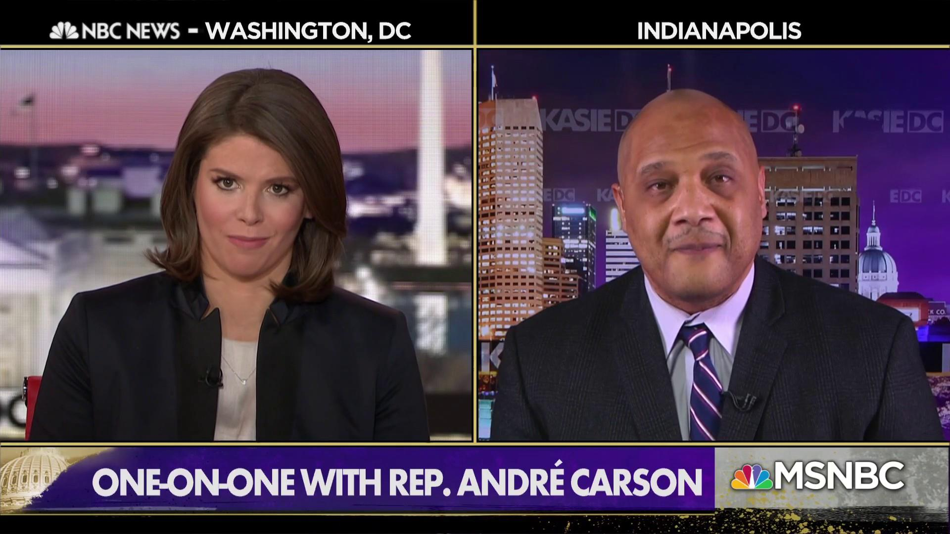 Rep. Carson: Trump's language has 'electrified' white nationalists