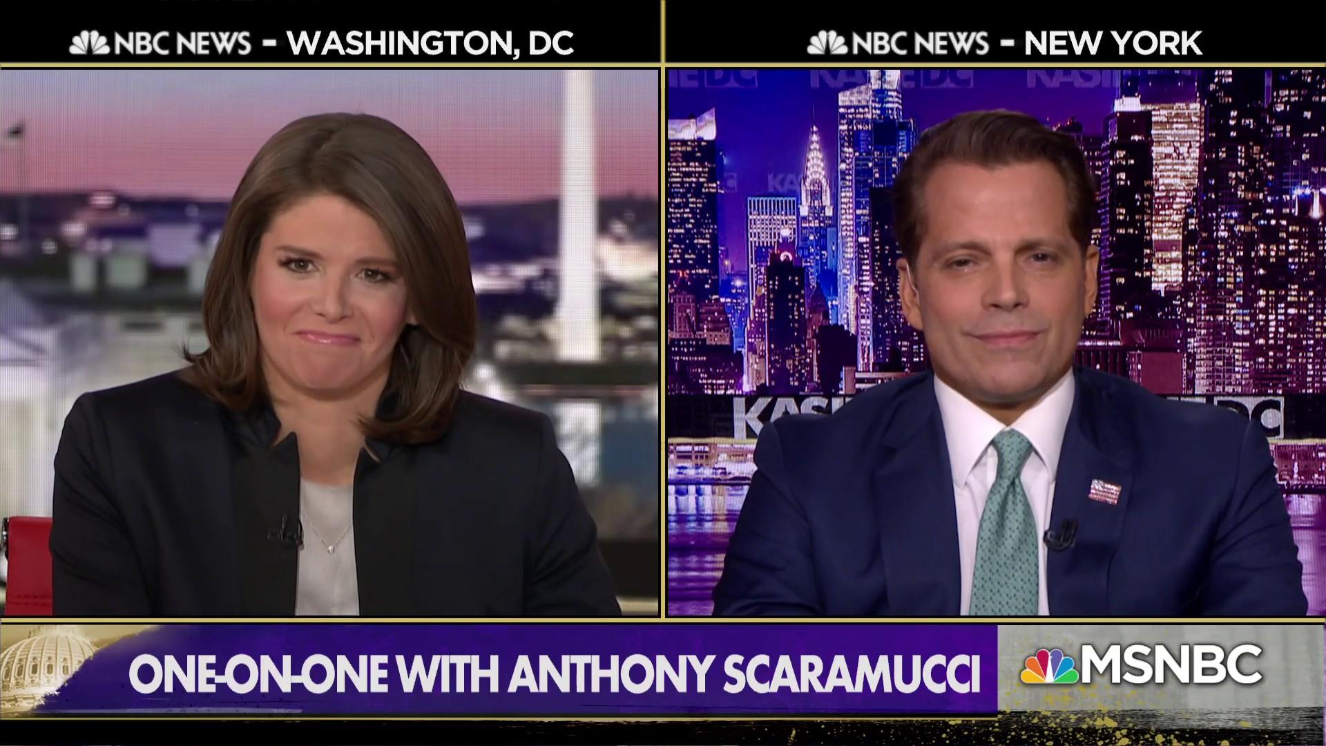 Scaramucci: If Trump tones it down on Twitter, his approval ratings will go up