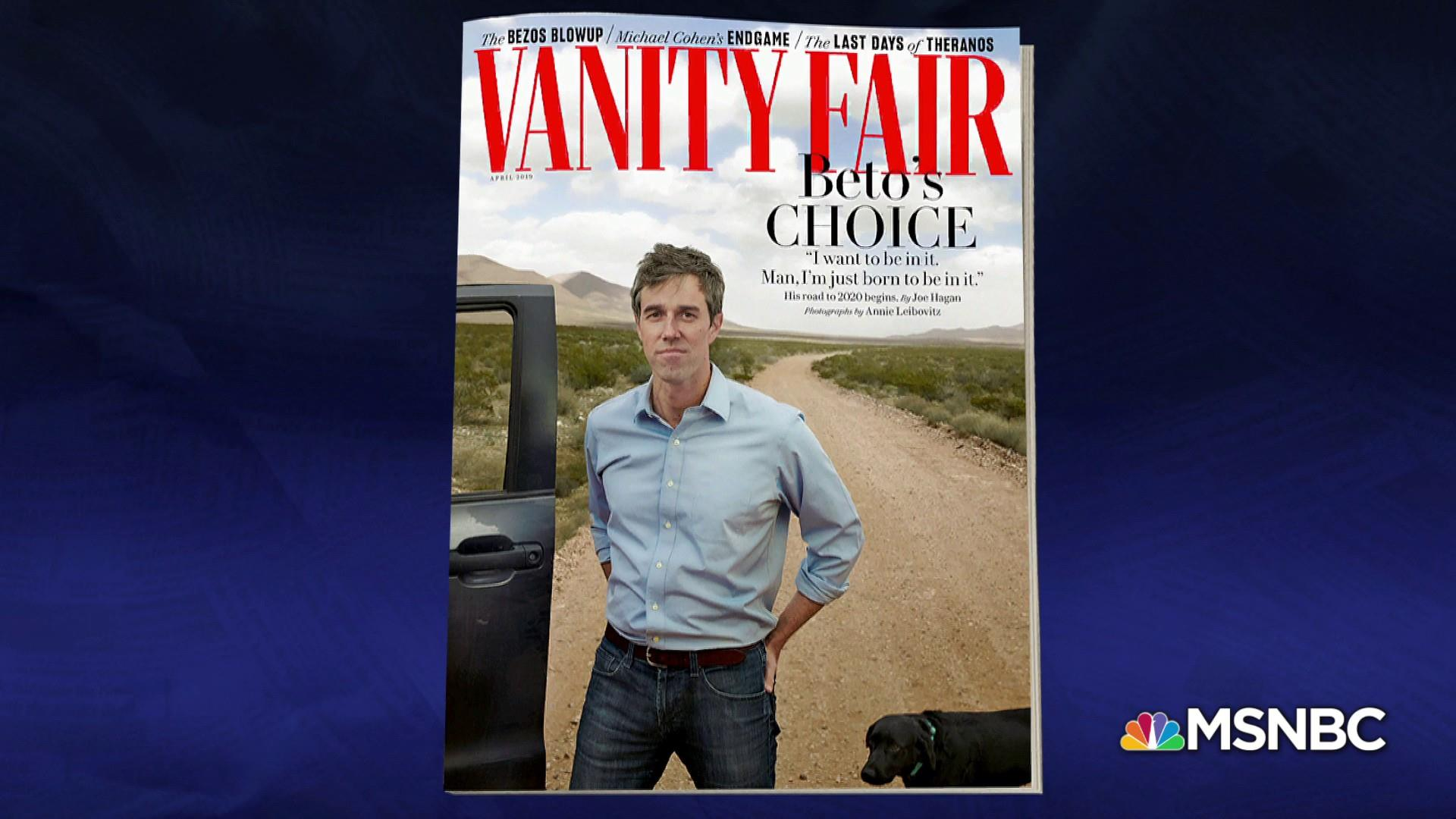 Beto O'Rourke: 'I'm just born to be in it'