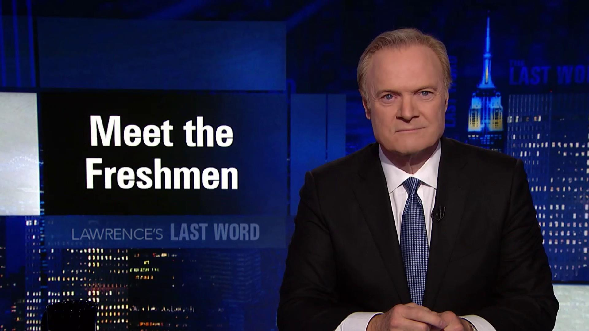 Lawrence's Last Word: meet the freshmen