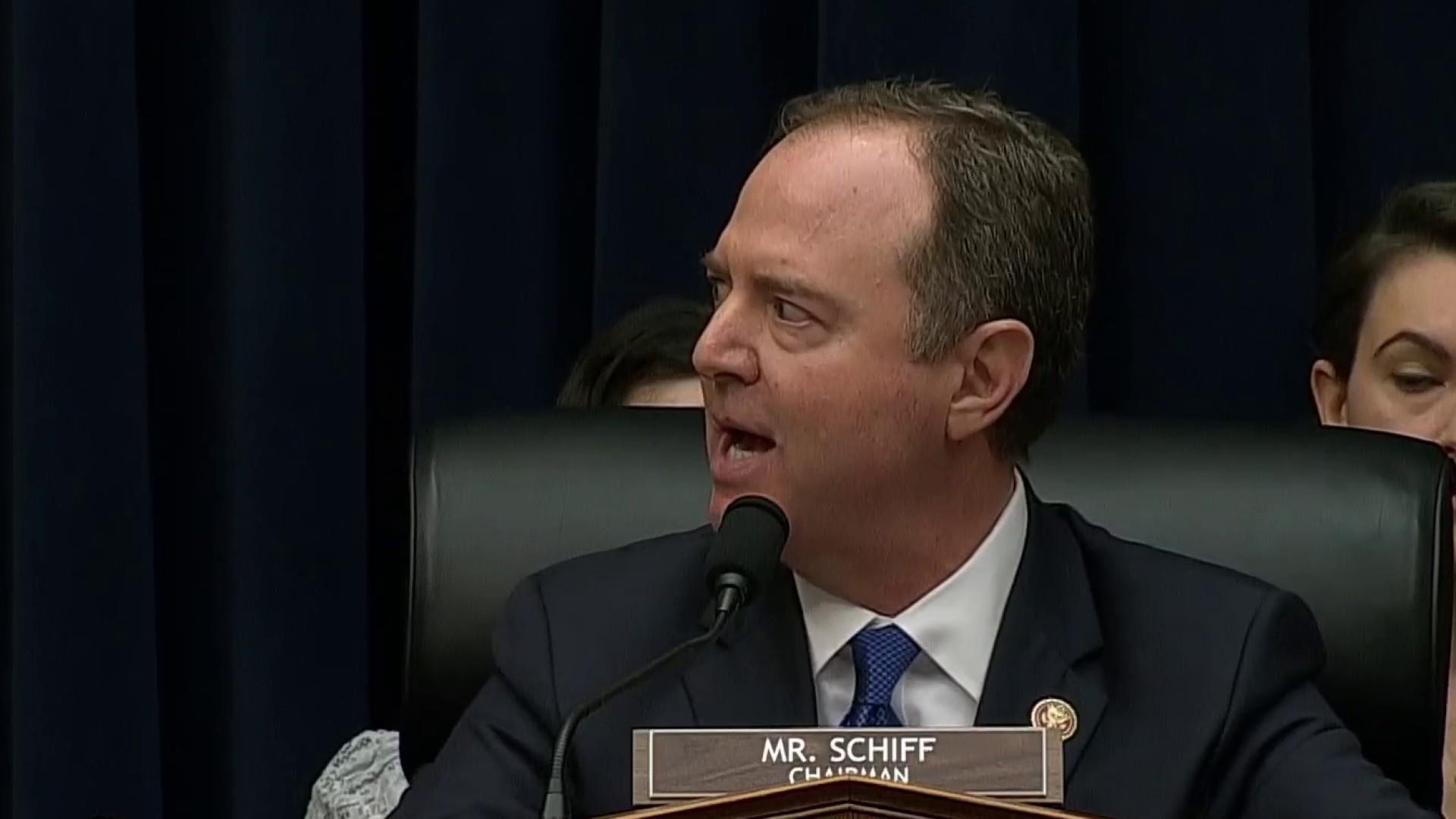 Schiff shames grandstanding GOP with litany of Trump corruption