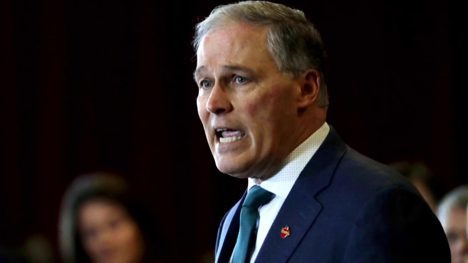 Inslee builds 2020 presidential campaign on climate change agenda