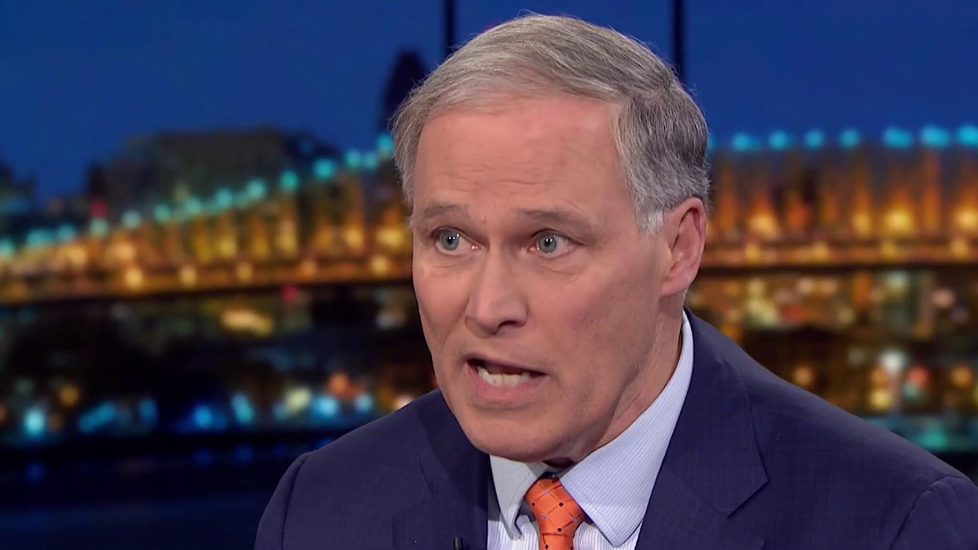 Gov. Inslee: Climate change is a 'true national emergency'