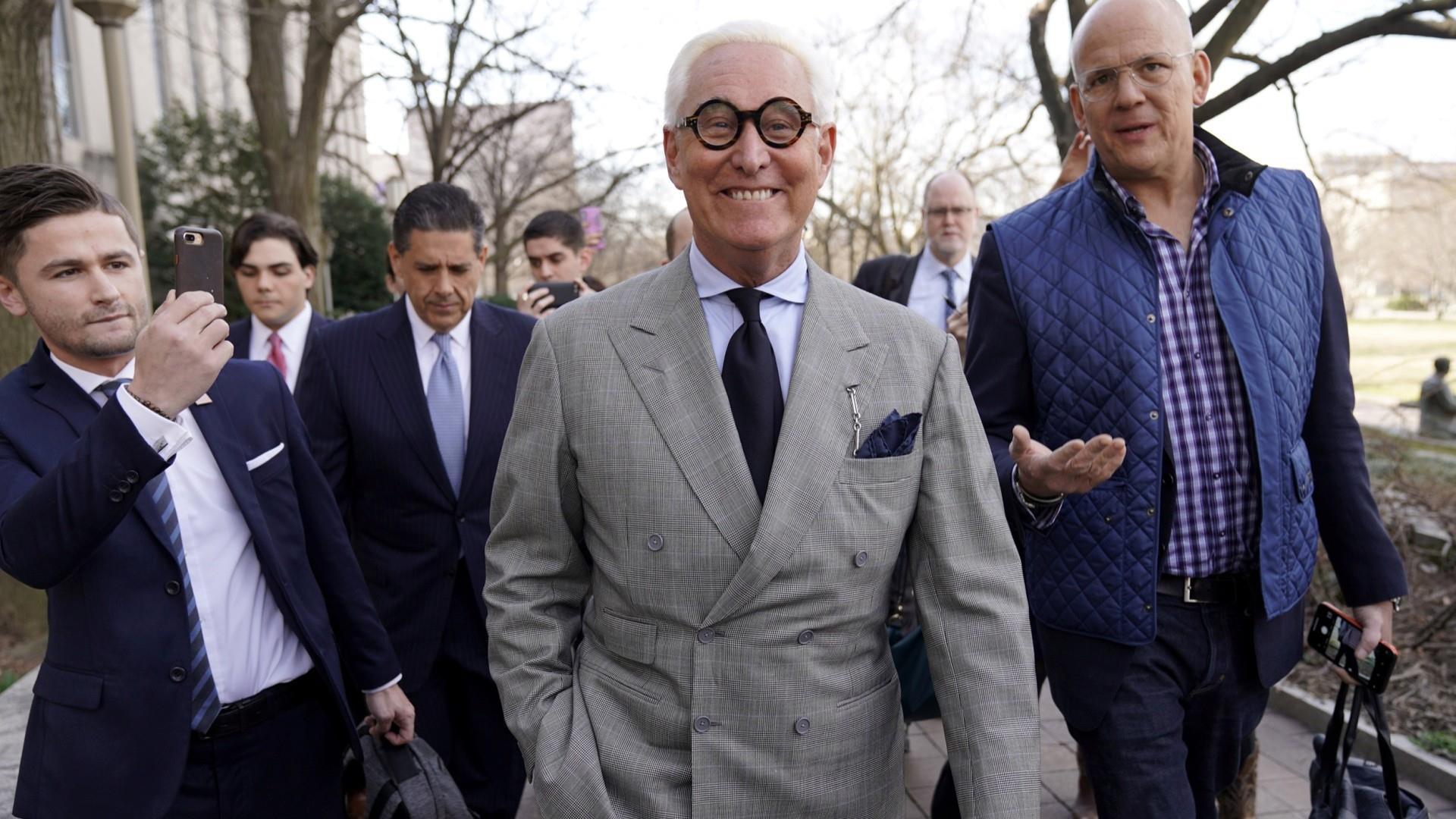 Roger Stone trial set for November 5