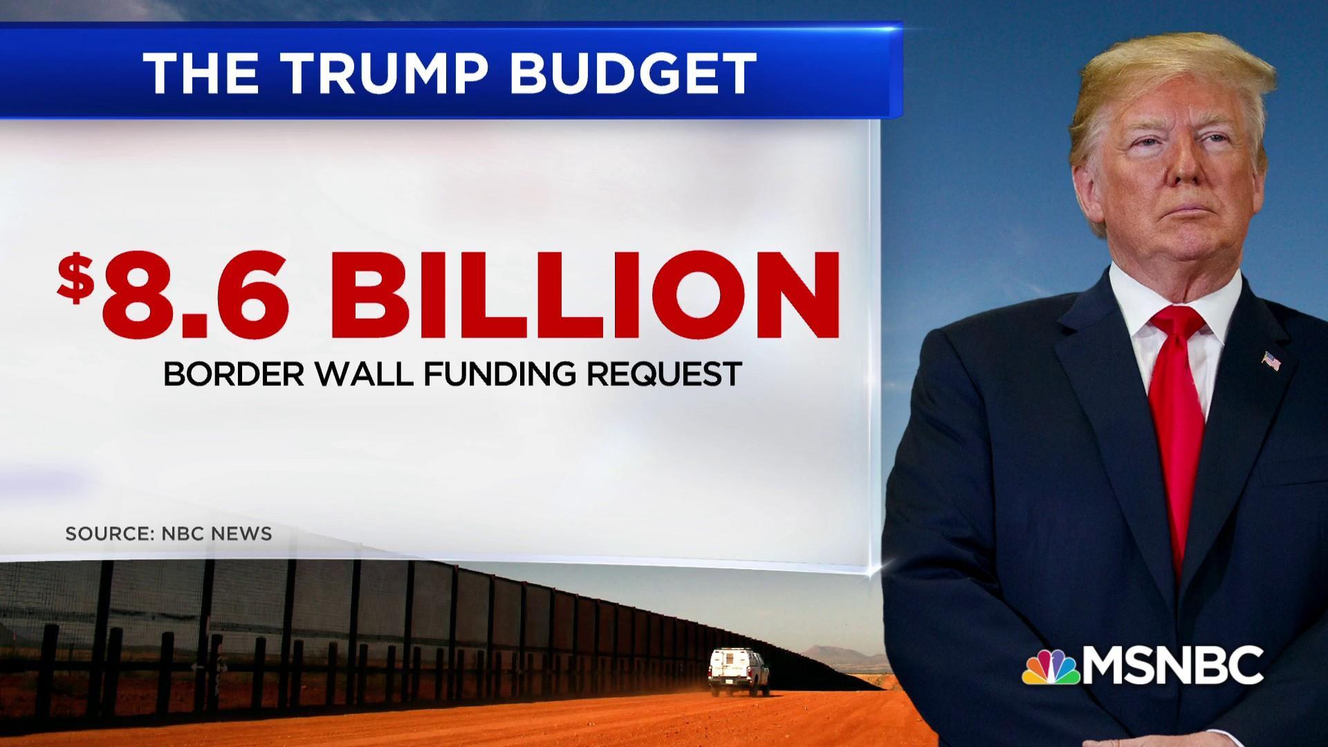 House Democrats push back on Trump budget request