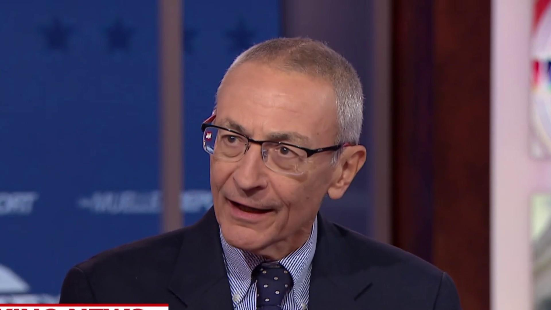 John Podesta talks AG Barr's summary of Mueller report
