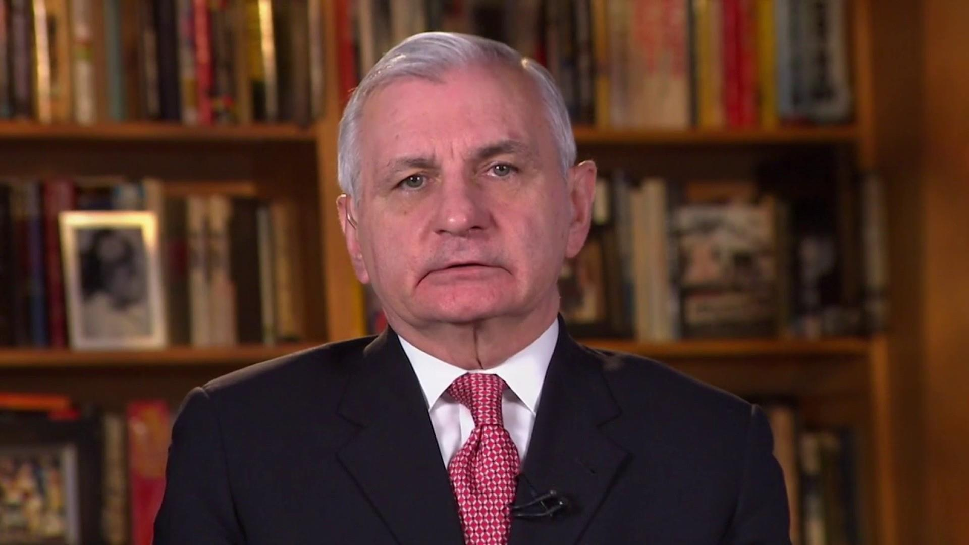 Sen. Jack Reed reacts to Trump's attacks against John McCain