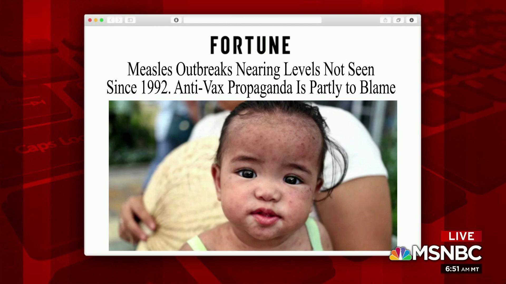 Health officials encourage vaccination amid measles outbreak