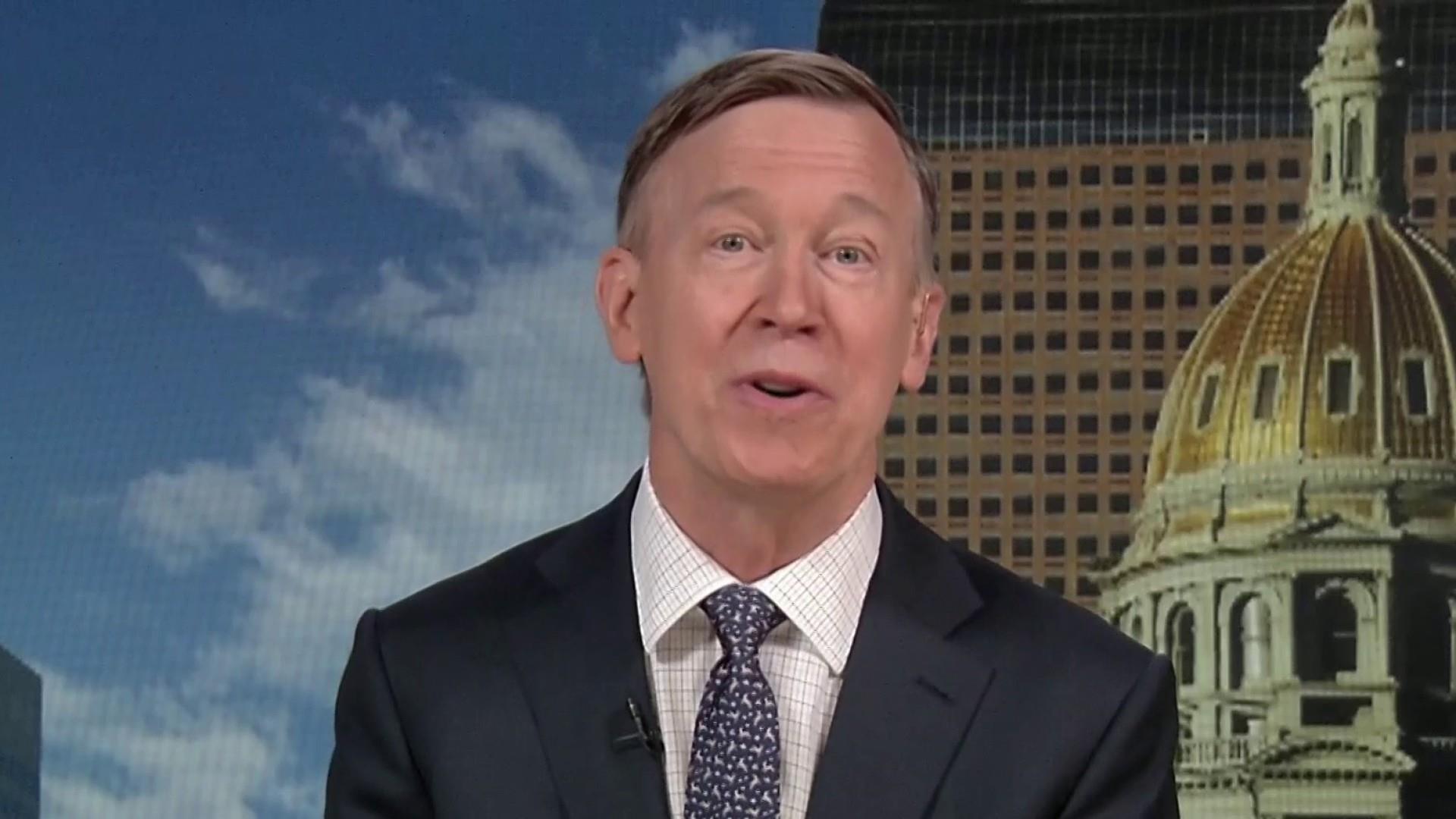 Hickenlooper: I can beat Trump and bring us together