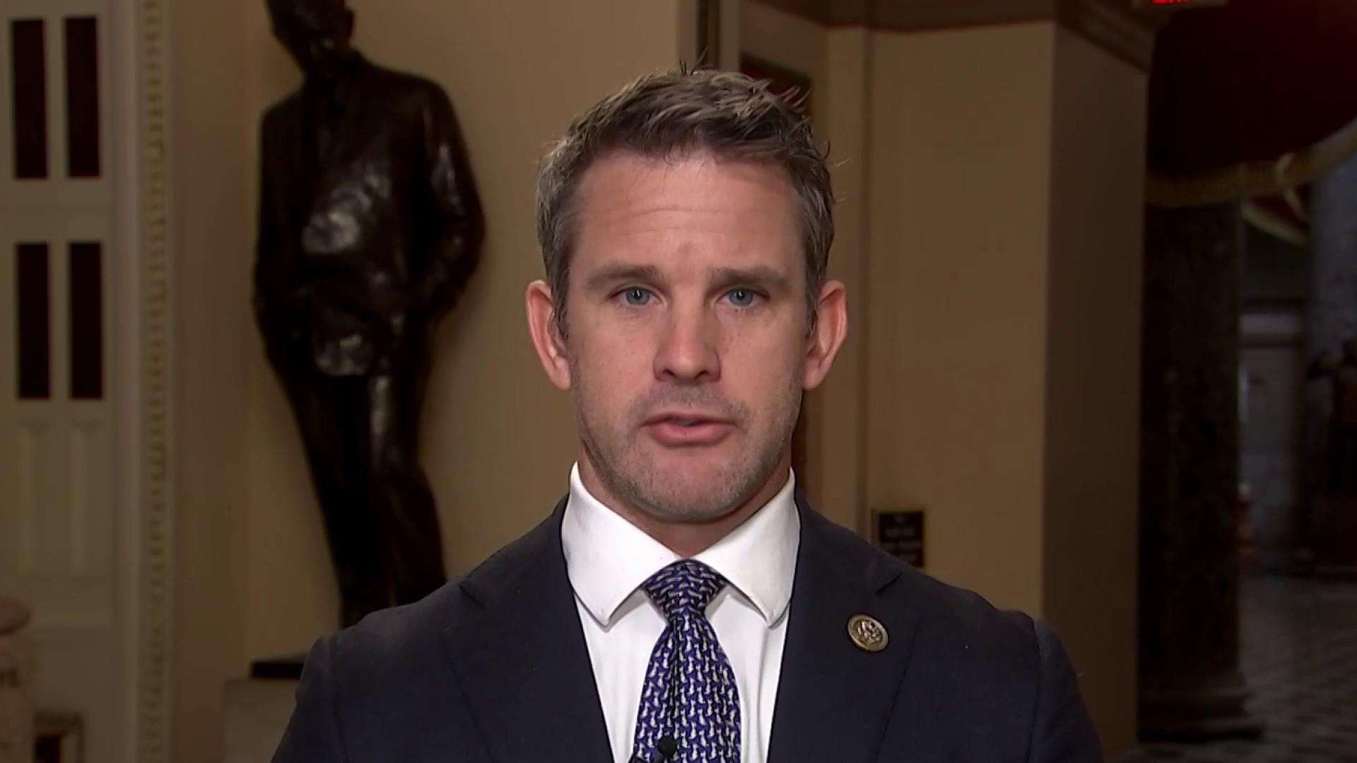 Border security essential because of what I've seen: Rep. Kinzinger