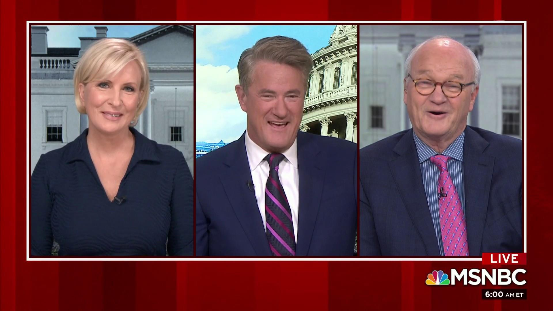 Joe, Barnicle get excited for Opening Day