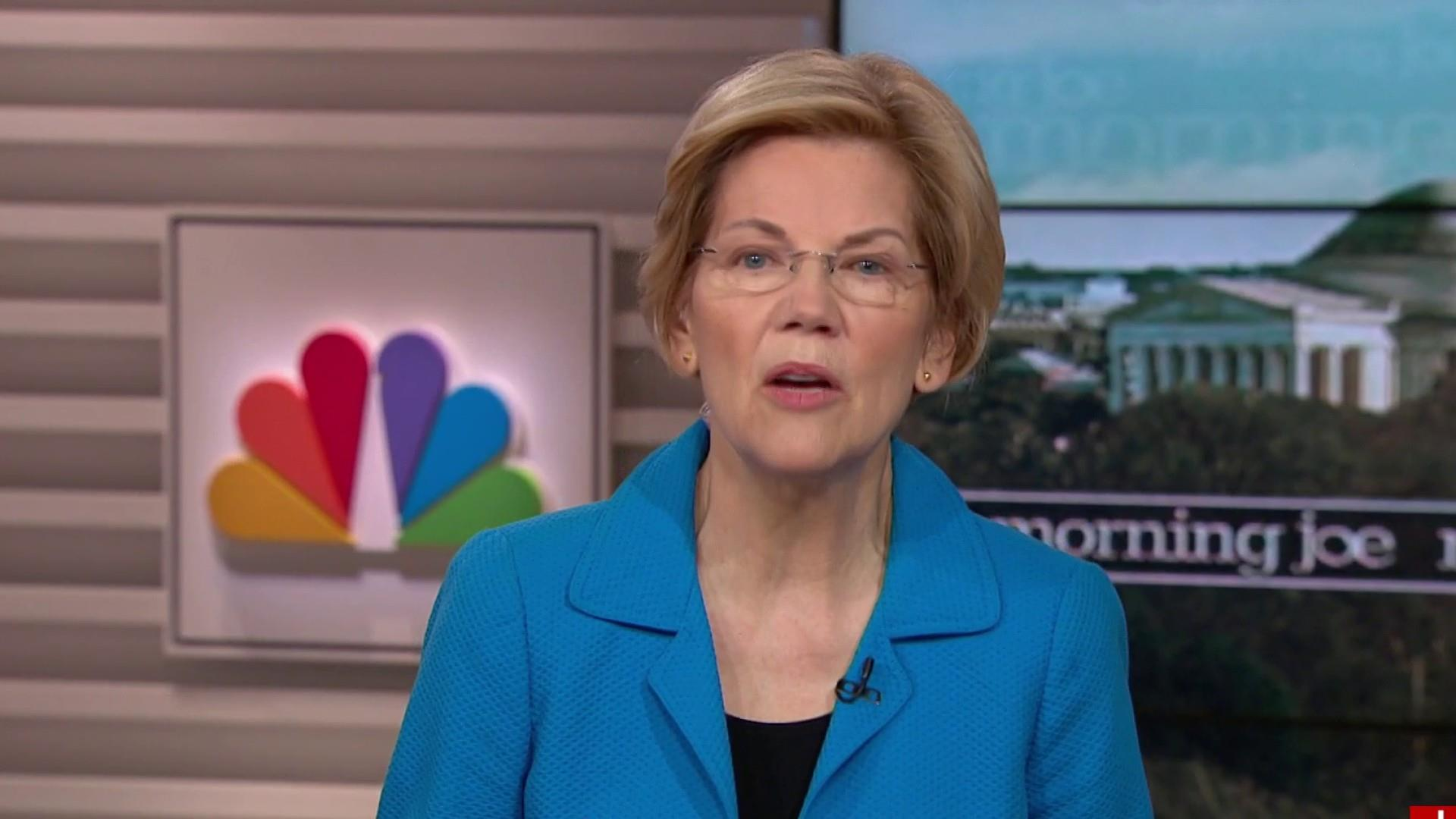 I'm not afraid of anyone, particularly Trump: Warren