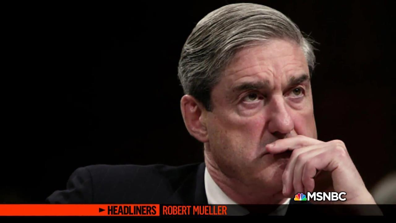 'Headliners: Robert Mueller' Partisan Politics and Mueller's Investigation