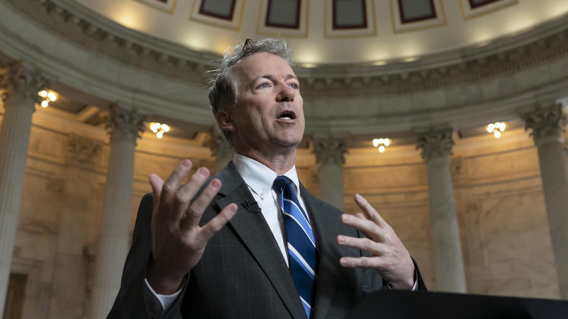 GOP Sen. Rand Paul to vote no on National Emergency, sets Trump up for first veto