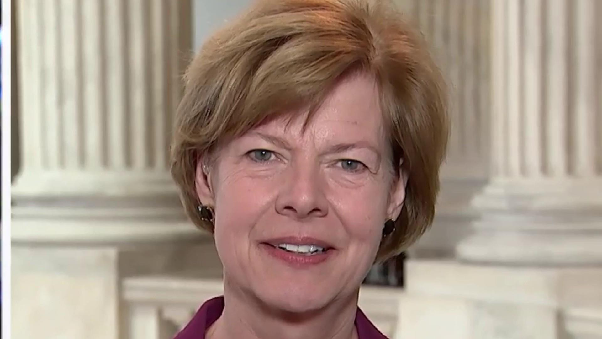 Sen. Baldwin on healthcare: Disregard words, follow the actions