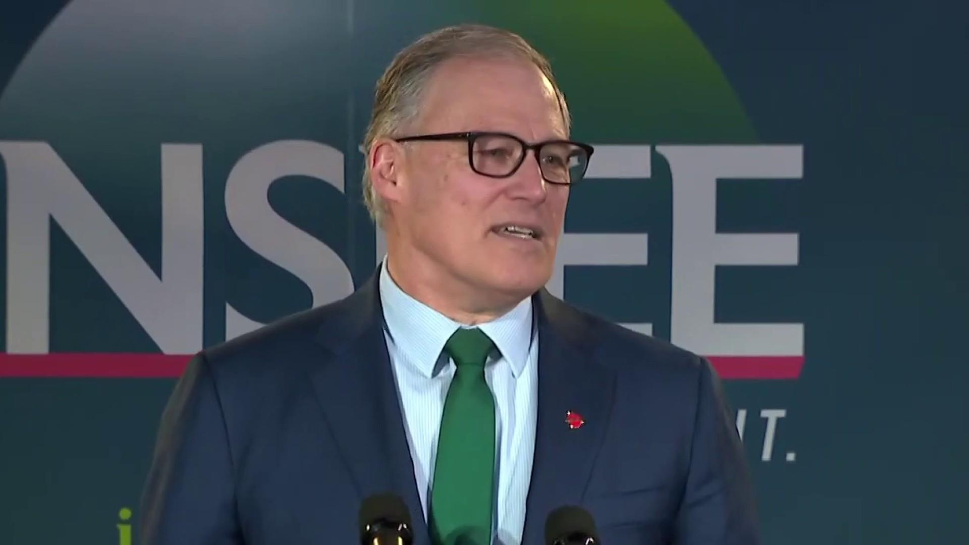 Jay Inslee focusing on climate change for his 2020 run