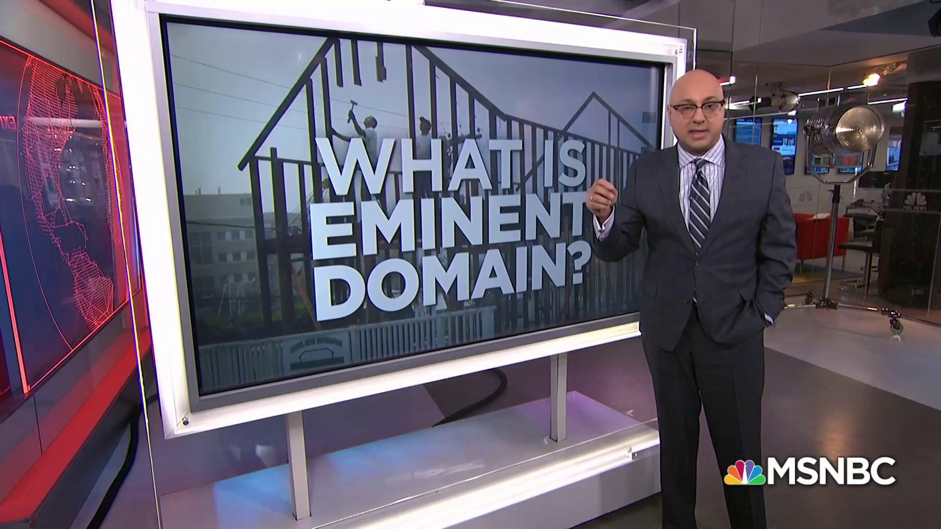 What is eminent domain?