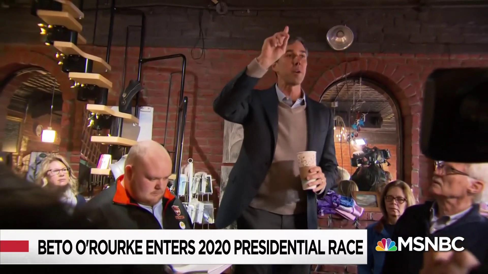 Beto O'Rourke Enters 2020 Race and Sends Message to Dems: Unite Against Trump