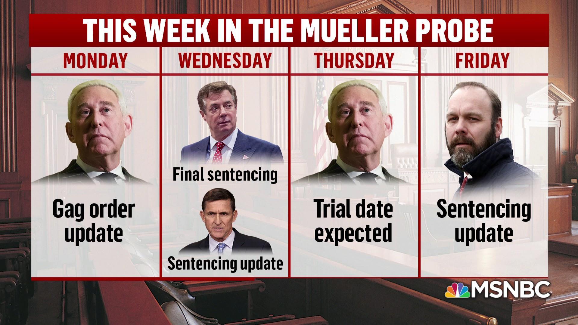 Big week of answers ahead in the Mueller probe