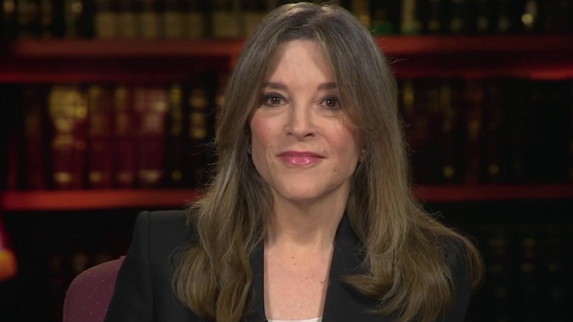 Author Marianne Williamson on why she's running for president
