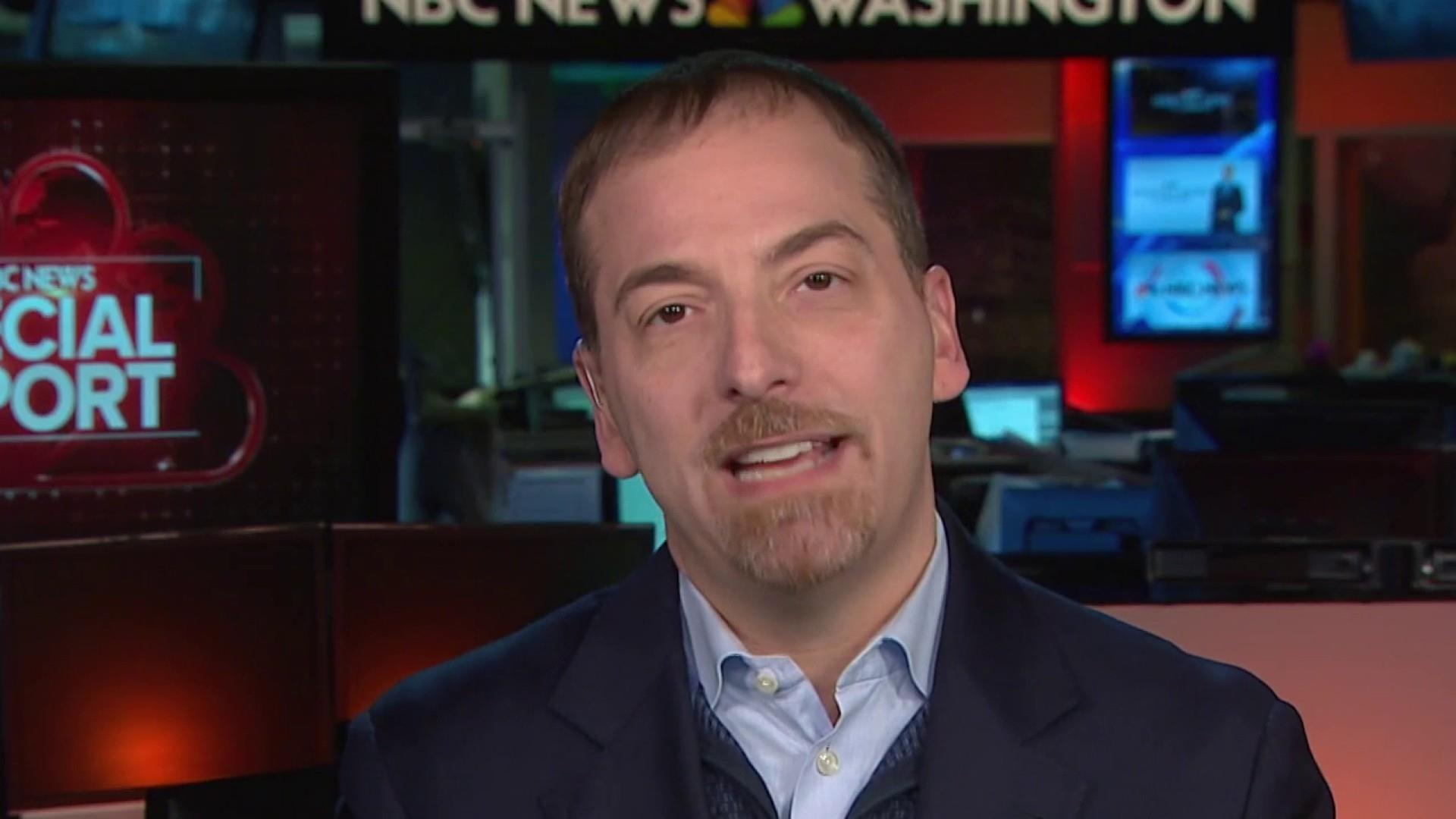 Mueller Report summary: Trump will feel 'quite vindicated' says Chuck Todd