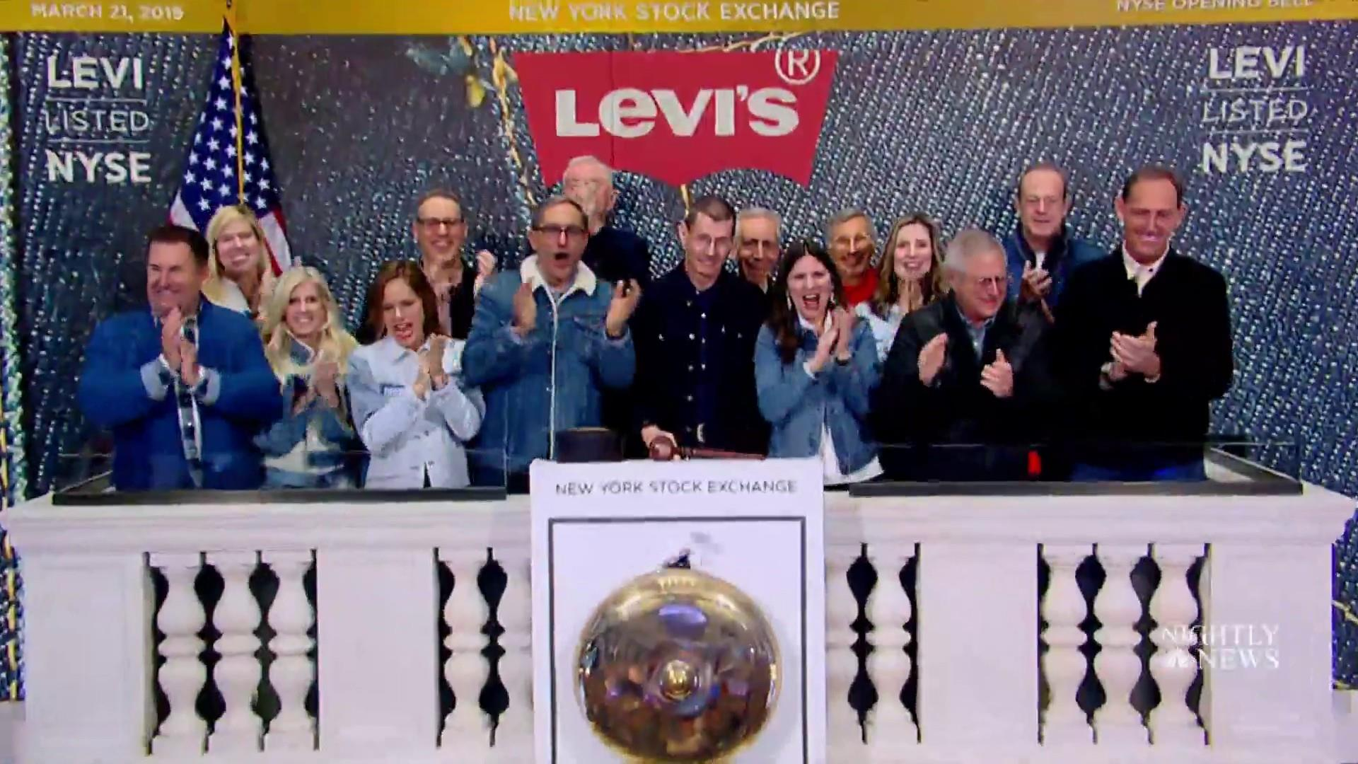 Levi's just went public, kicking off a new wave of red-hot IPOs