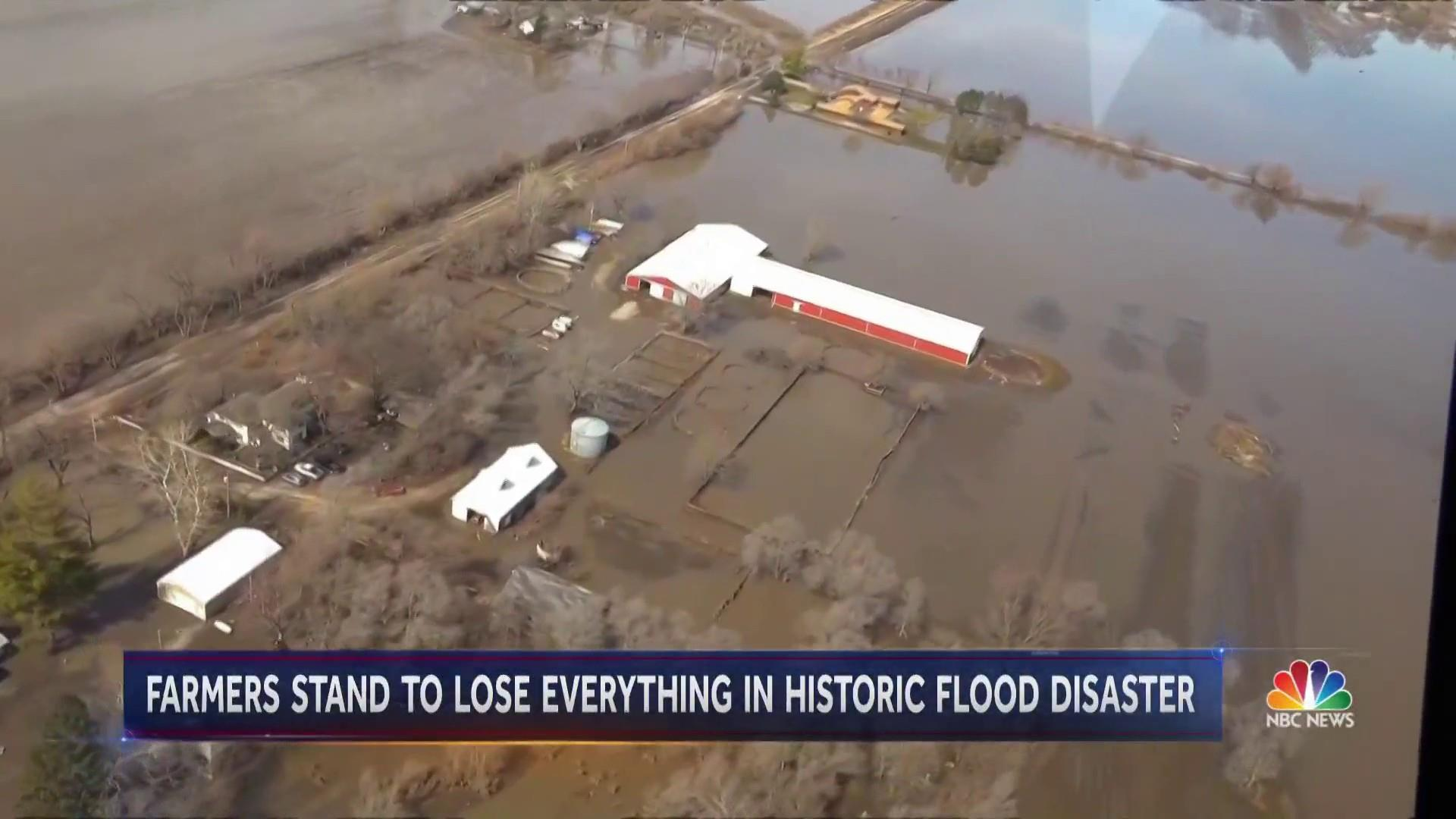 Midwest voters in Trump country face historic floods and call for climate action
