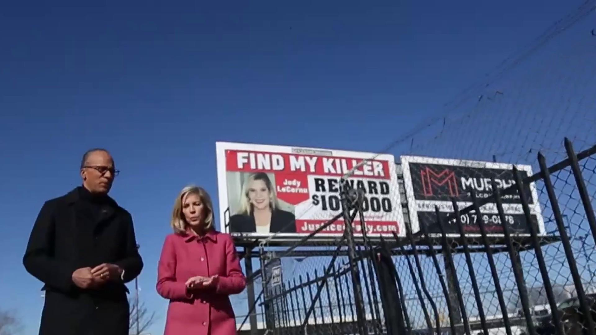 Three billboards in Baltimore: Woman hunts for twin's killer