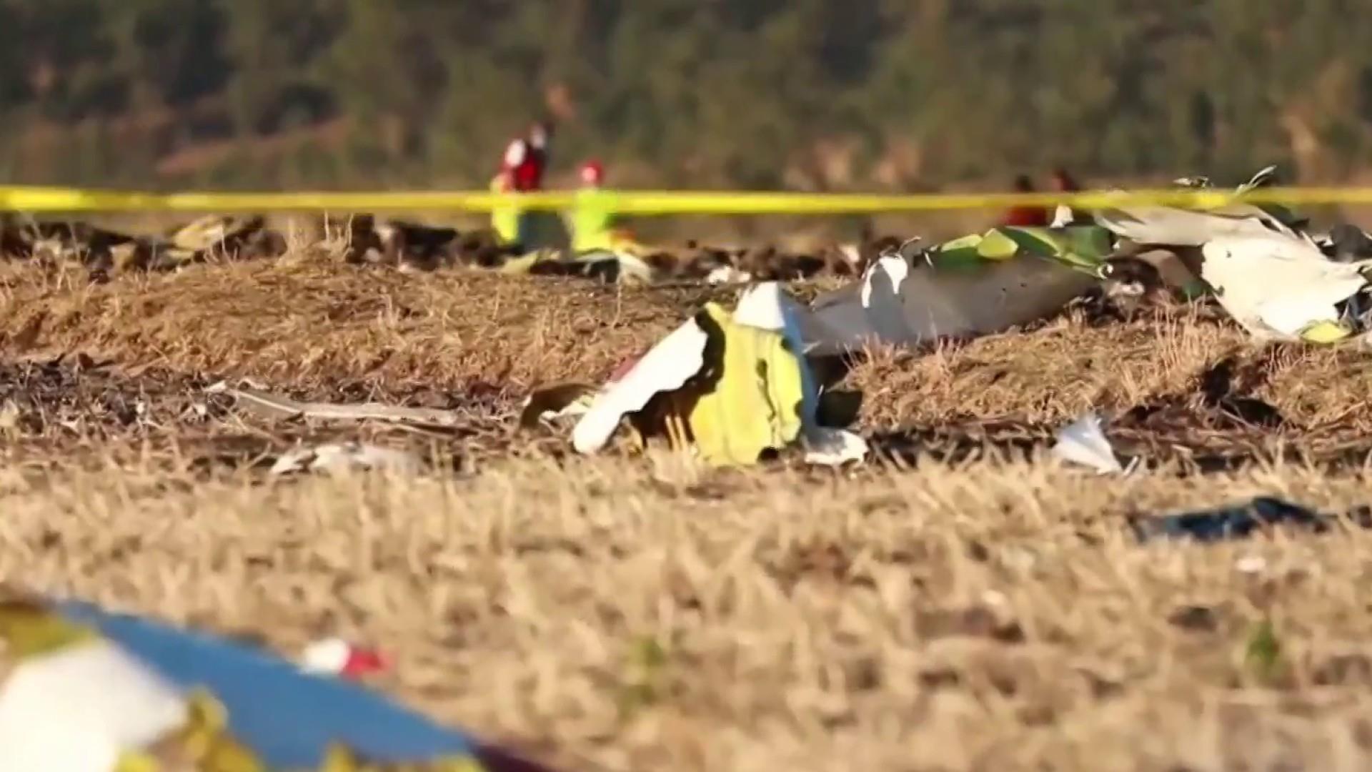 Investigators reveal new details in Ethiopian Airlines crash