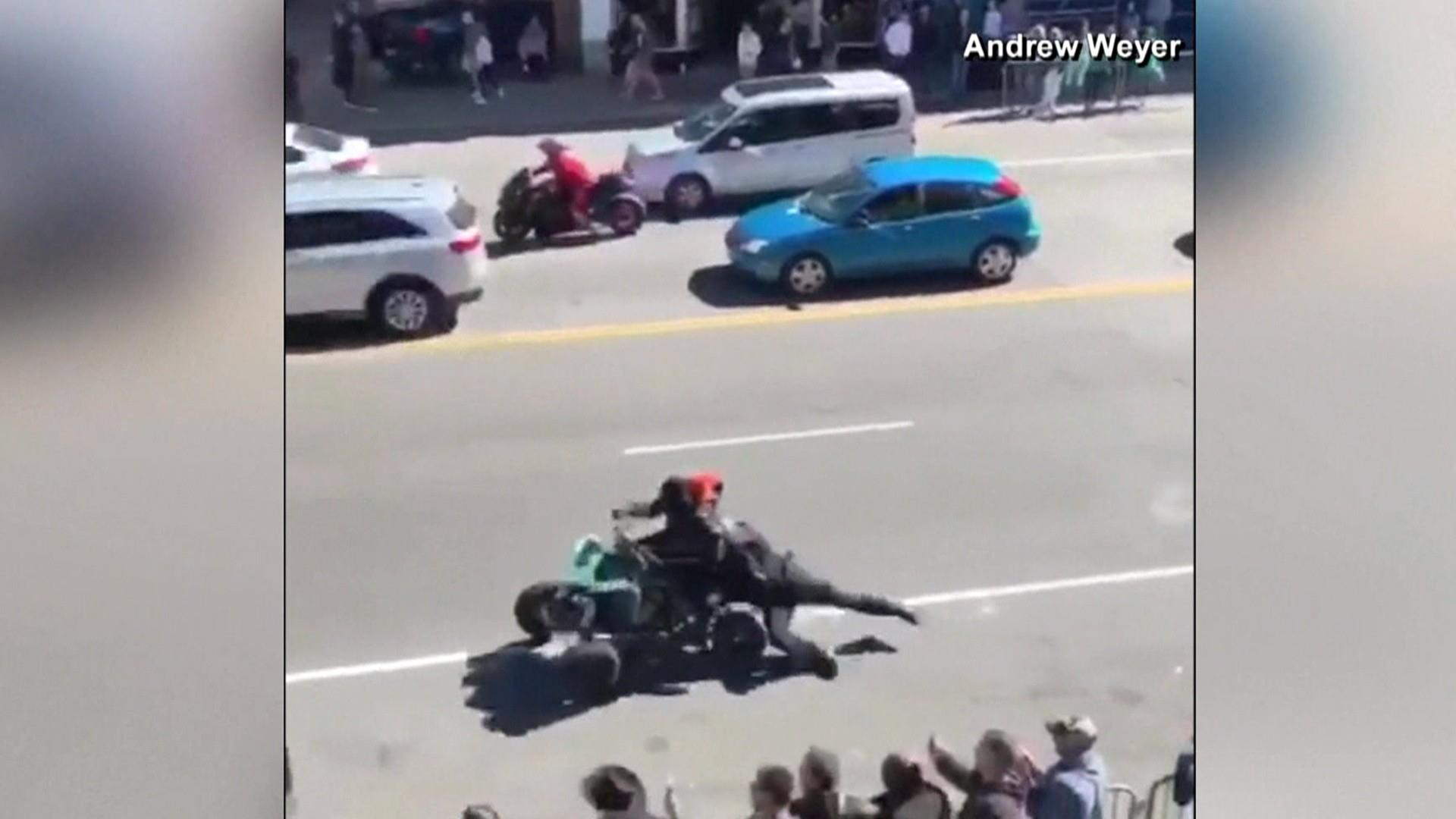 Nashville officer hospitalized after being dragged down street by ATV