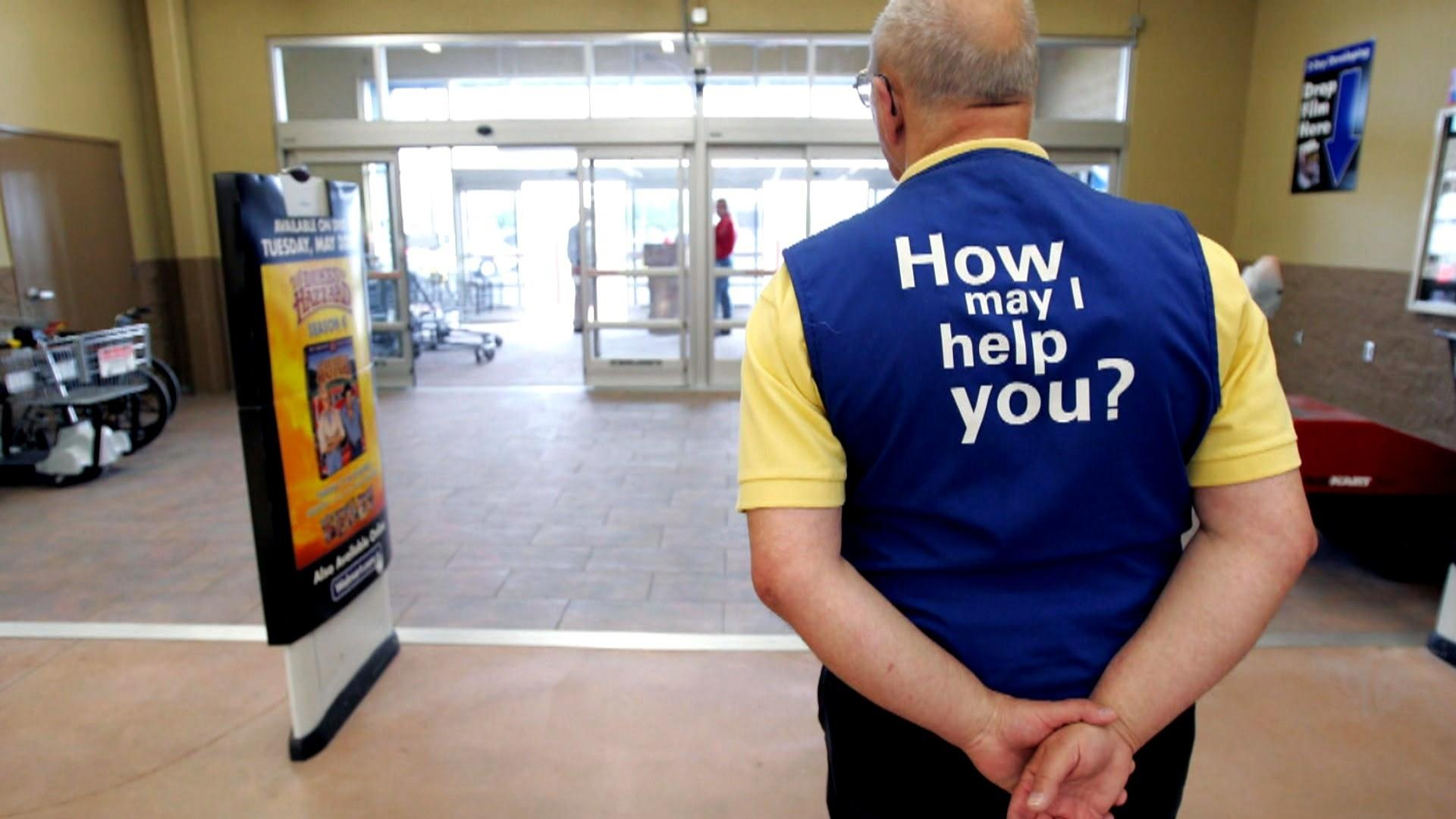 Greeter job going away, but disabled employees are not, Walmart says