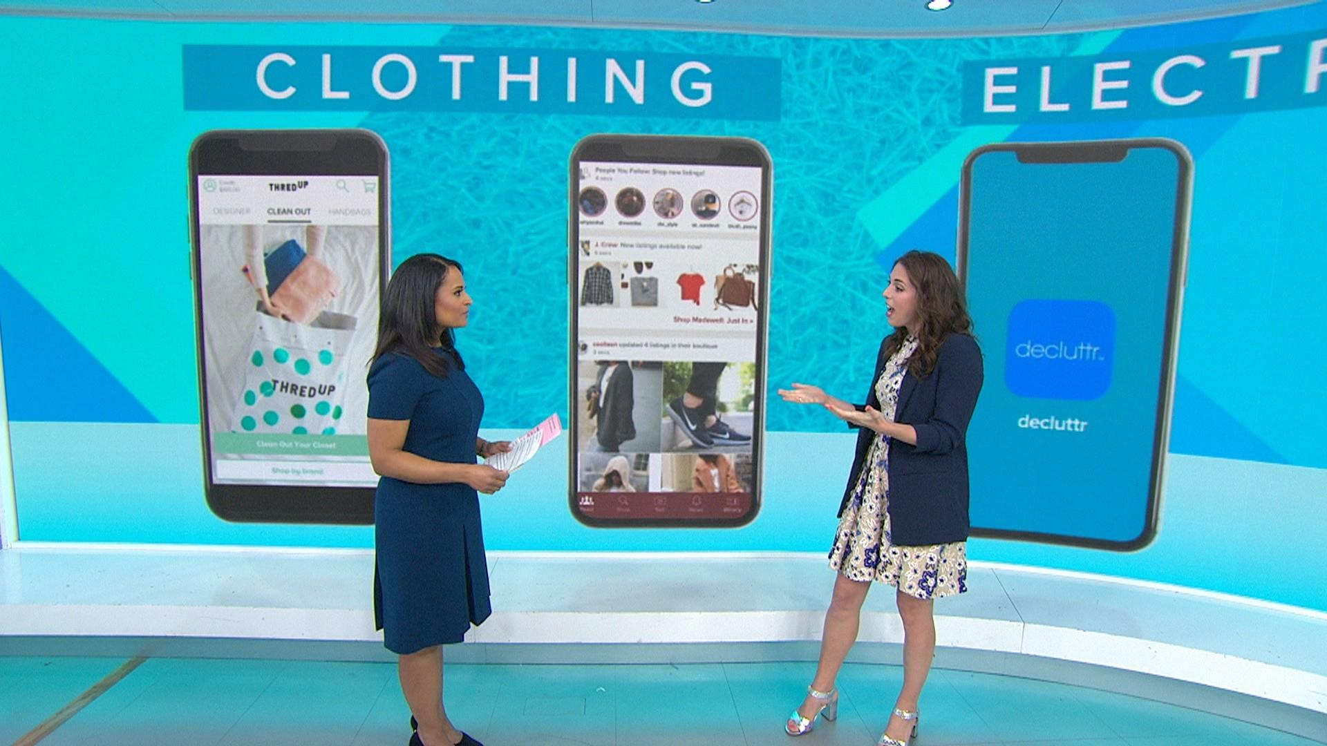 Spring Cleaning Apps To Sell Your Clothes Tech Furniture