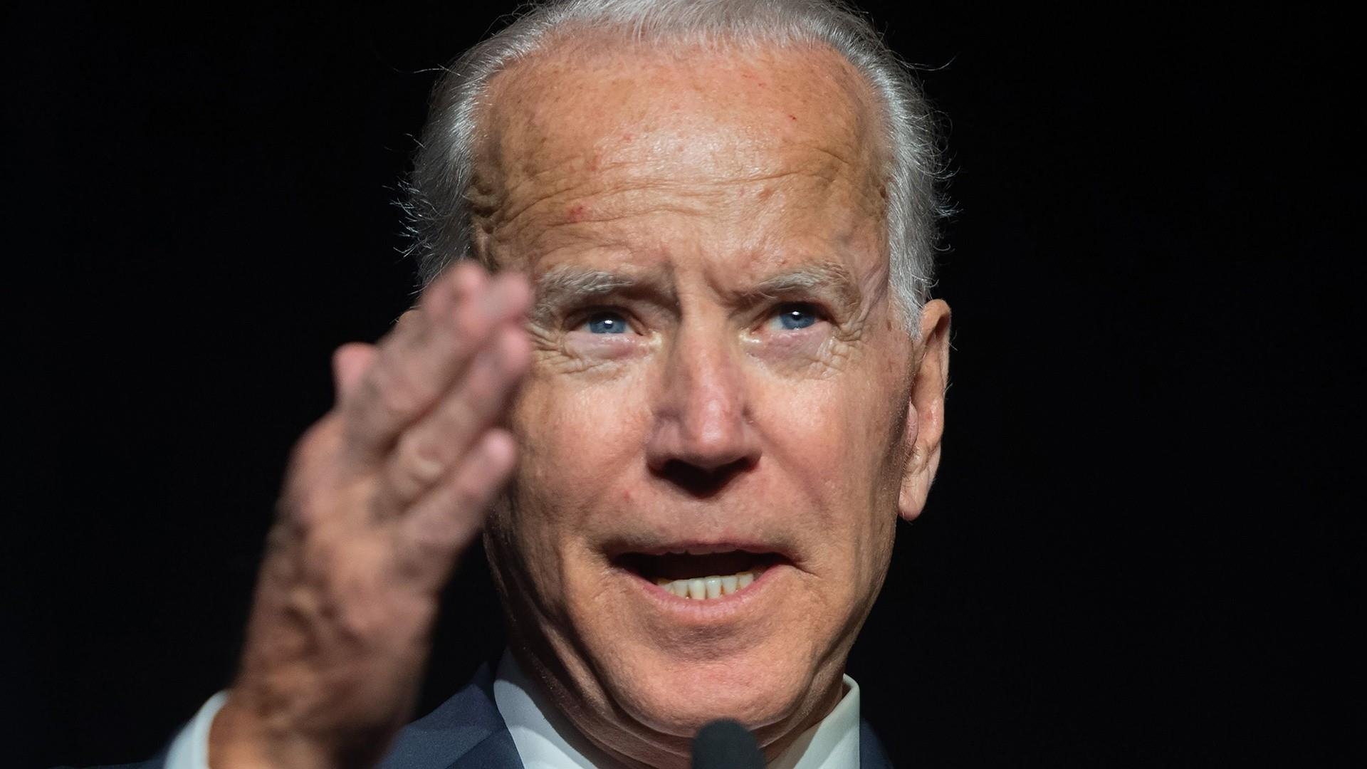Biden nearly declares his candidacy with a slip of the tongue