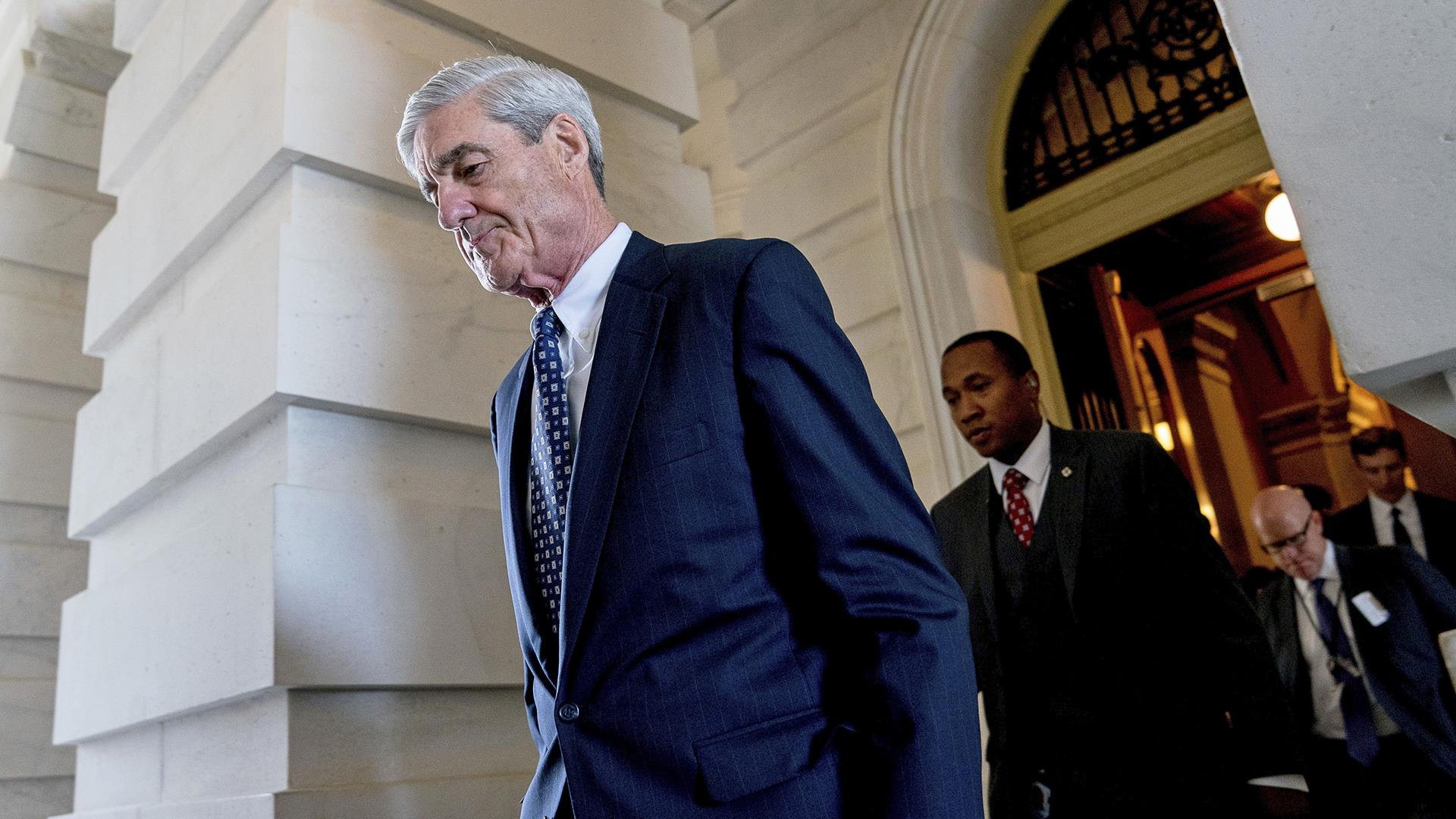 Mueller report shows he chose not to charge Trump because obstruction was in plain view