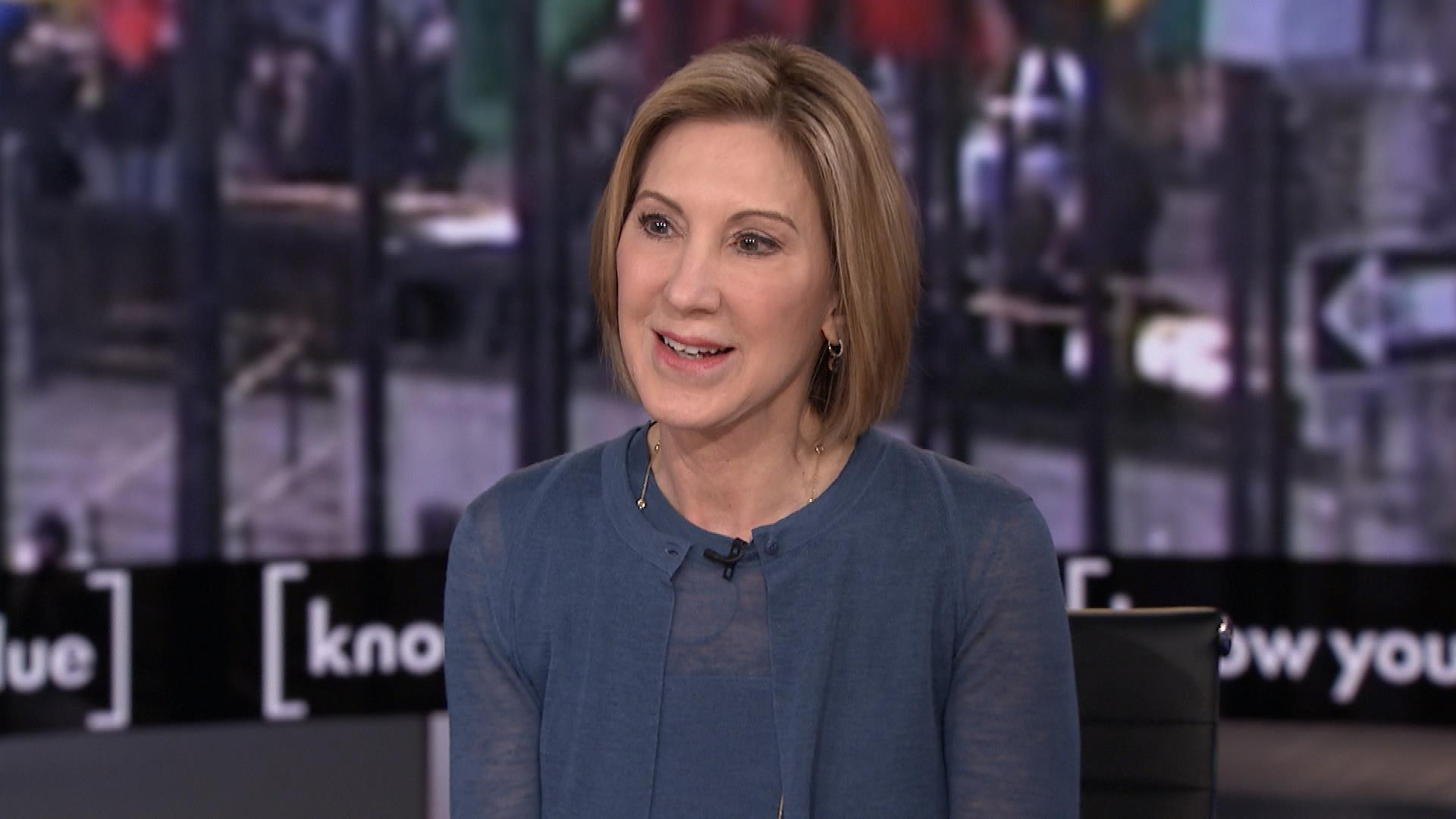 Carly Fiorina: Women can lead by overcoming fear