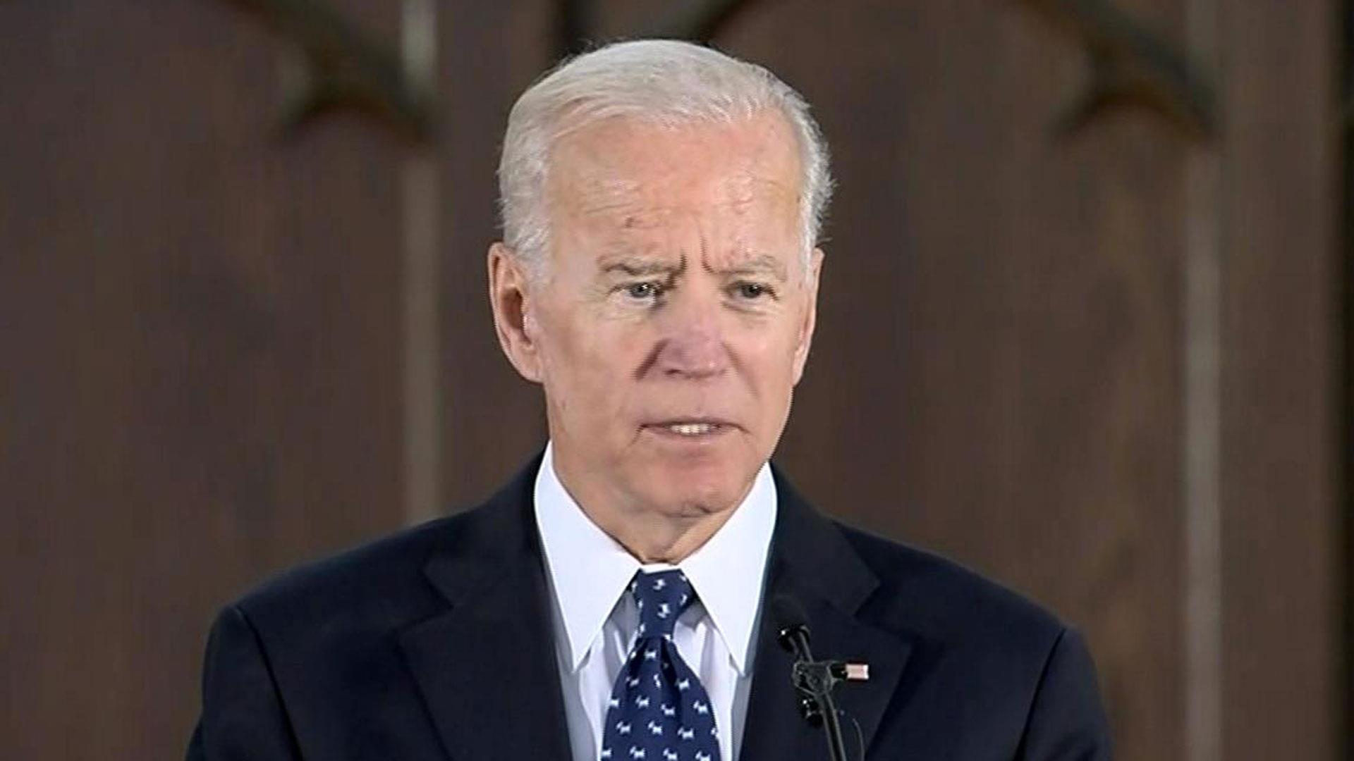 Joe Biden Gives Eulogy At Sen Ernest Fritz Hollings Funeral In South Carolina
