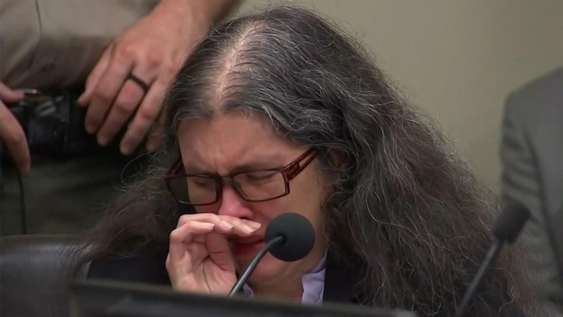 House of horrors case: Turpin parents cry before sentencing