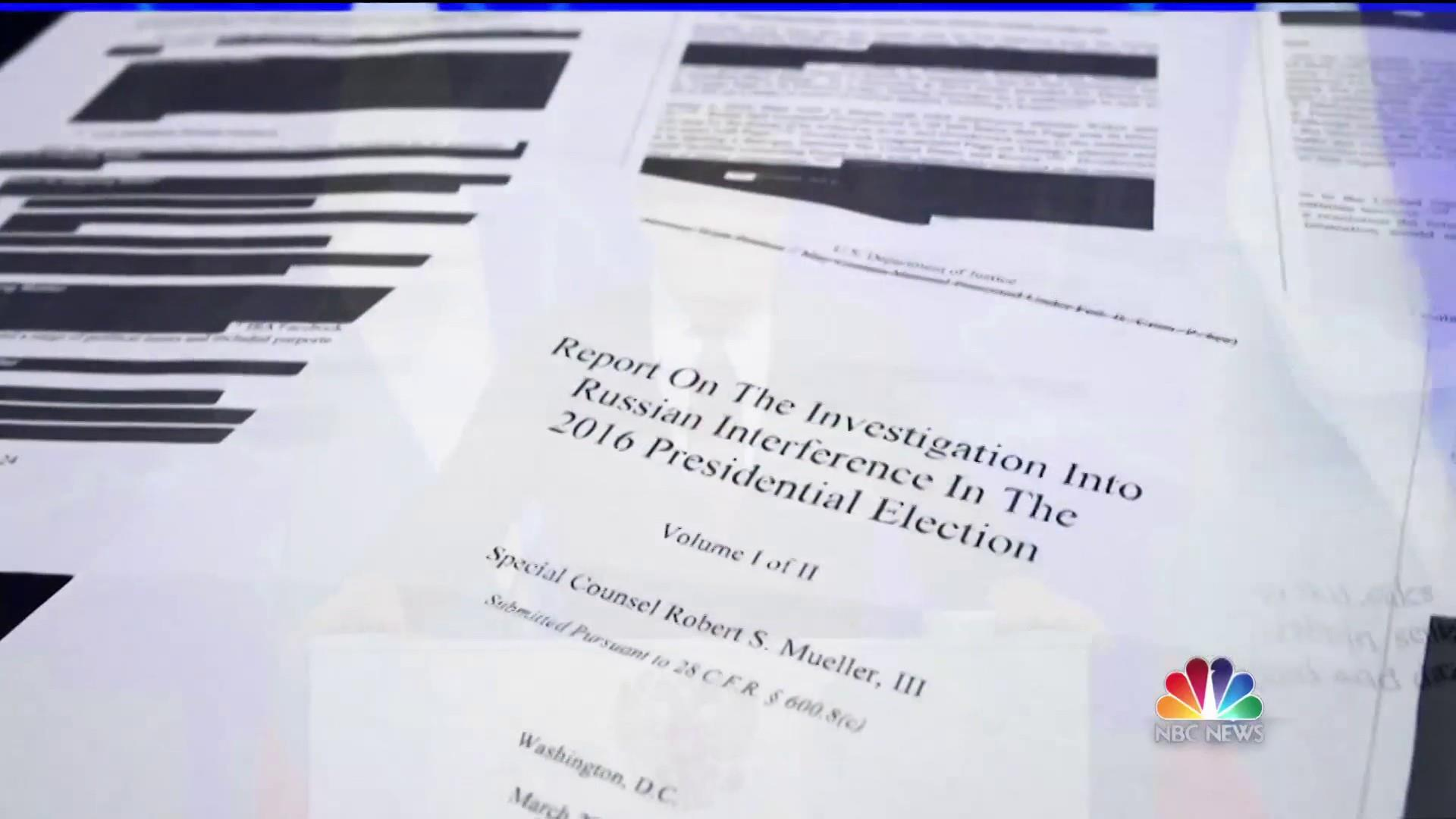Mueller Report: 'Does not exonerate' President Trump